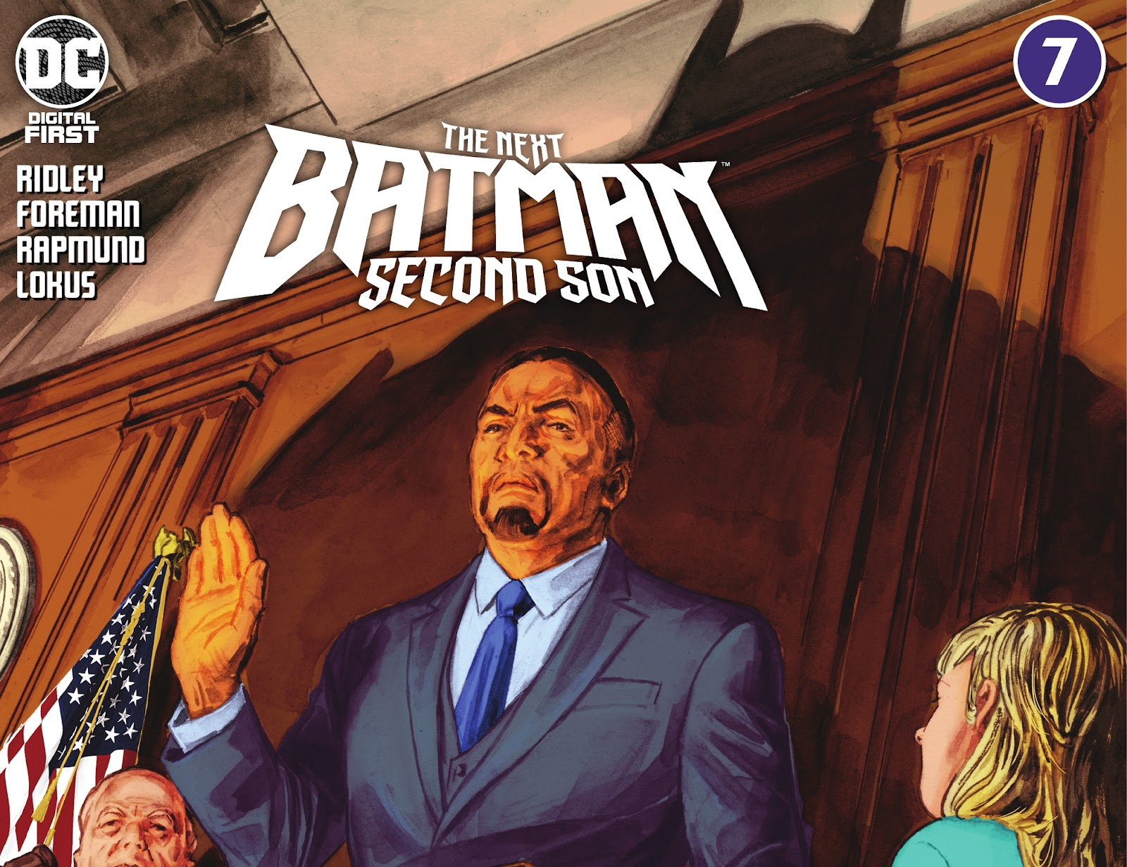 The Next Batman: Second Son 7 Page 1
