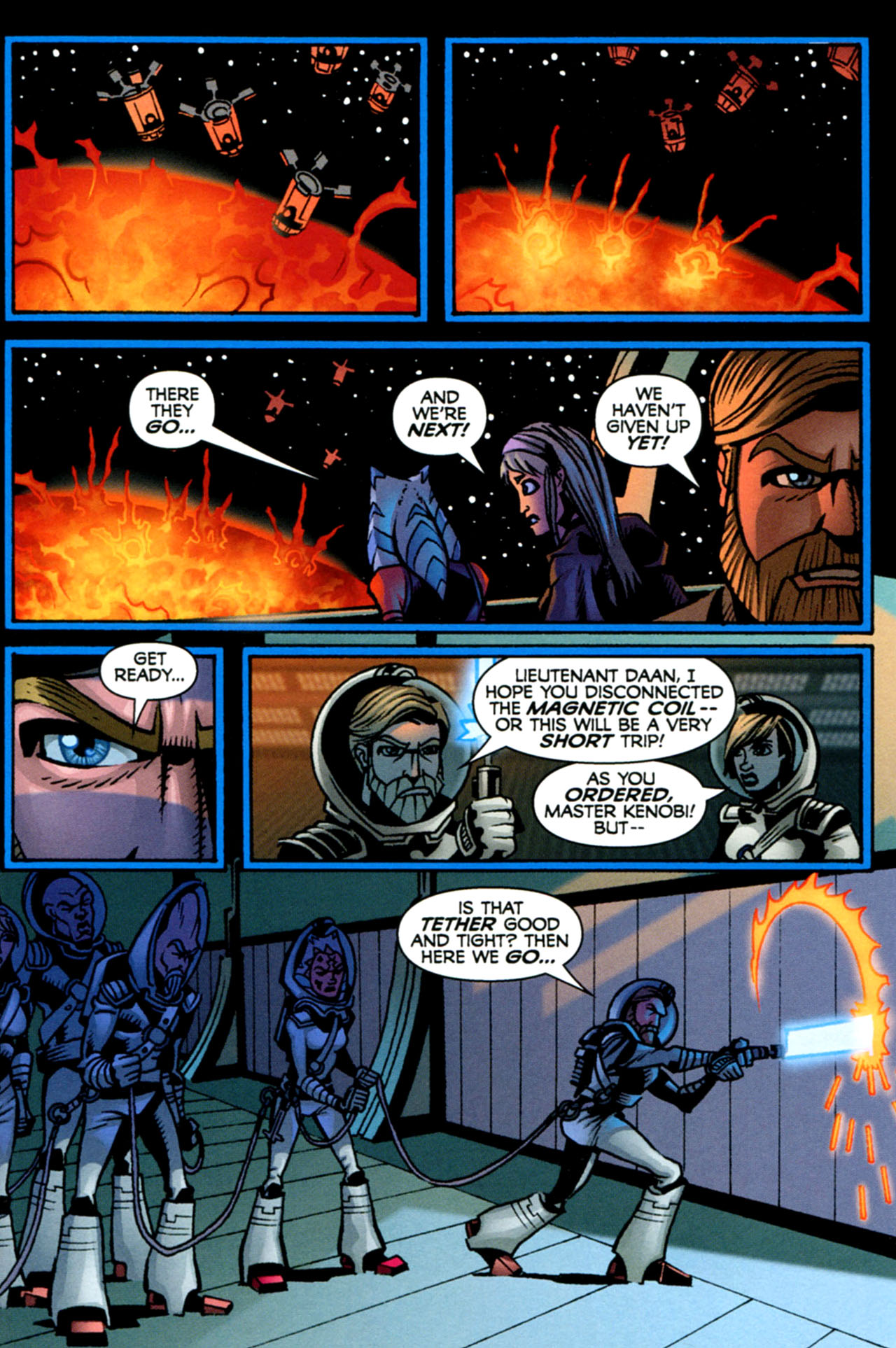 Read online Star Wars: The Clone Wars - The Starcrusher Trap comic -  Issue # Full - 73