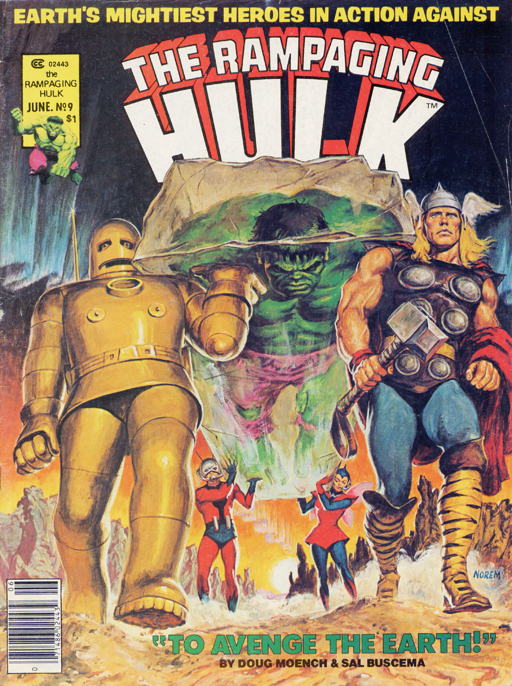 The Rampaging Hulk (1977) issue 9 - Page 1