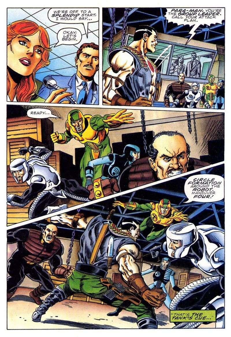 Read online Secret Weapons comic -  Issue #11 - 16