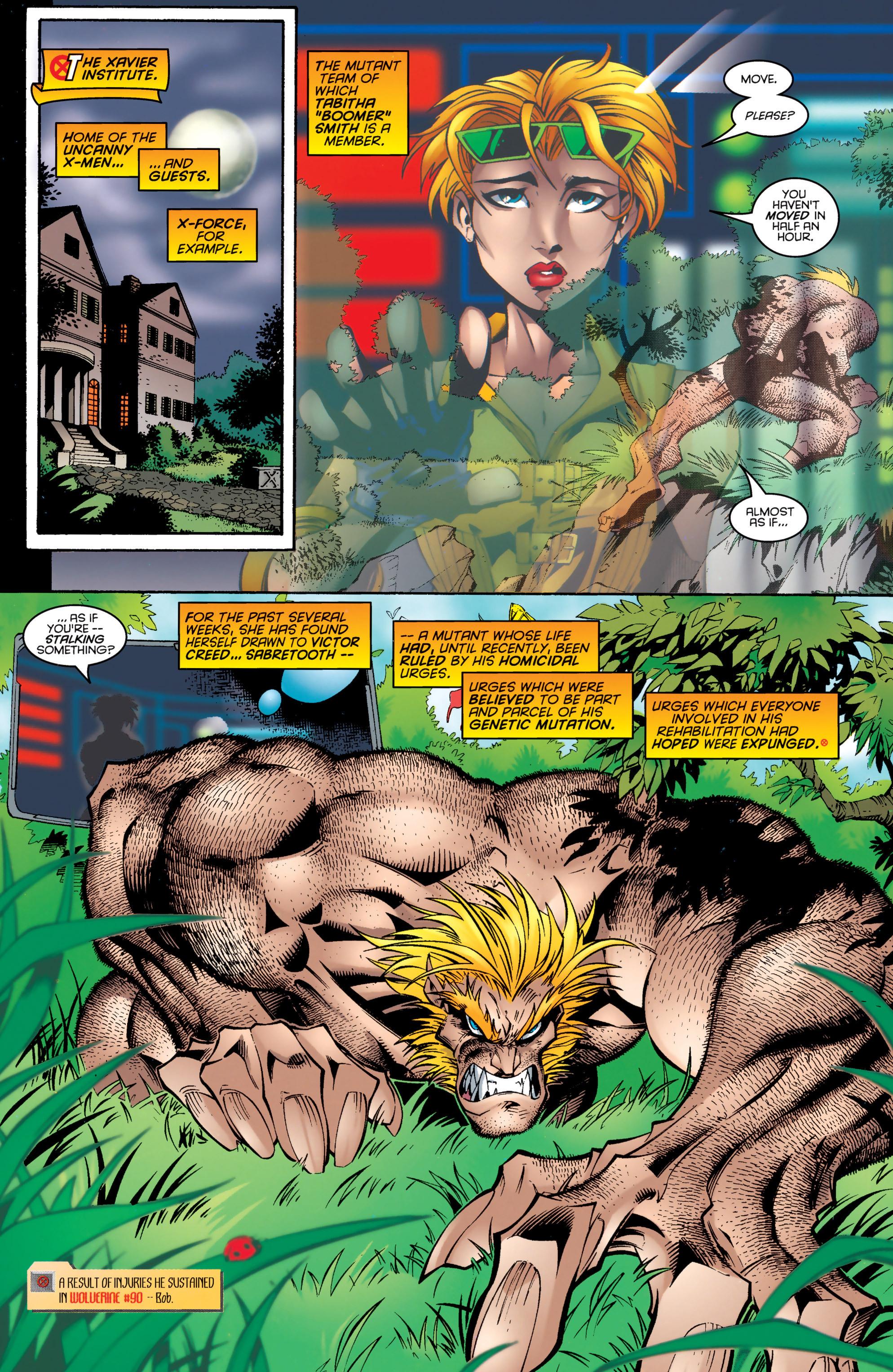 Read online Uncanny X-Men (1963) comic -  Issue #326 - 9