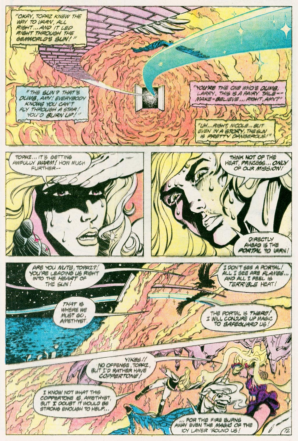 Read online Amethyst (1985) comic -  Issue #12 - 16