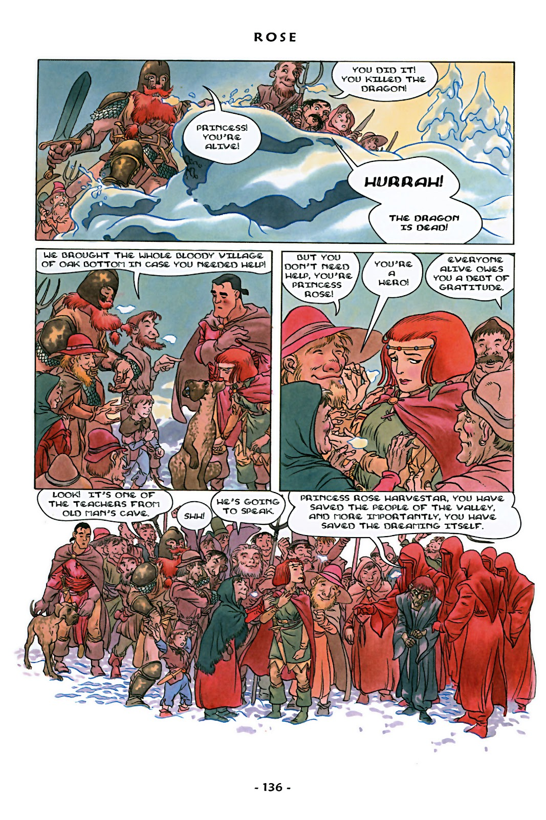 Read online Rose (2000) comic -  Issue # TPB - 141