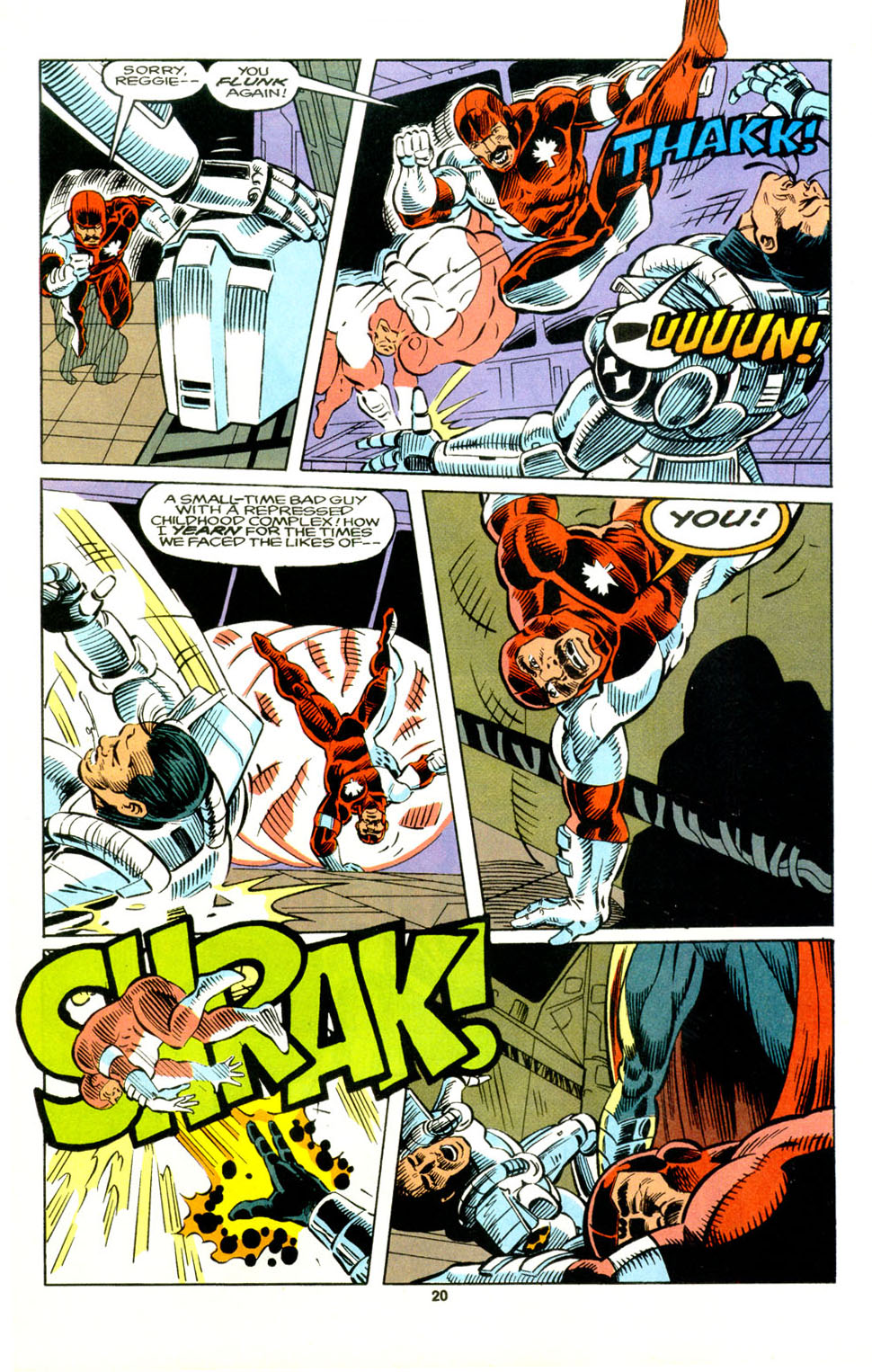 Read online Alpha Flight (1983) comic -  Issue #129 - 17