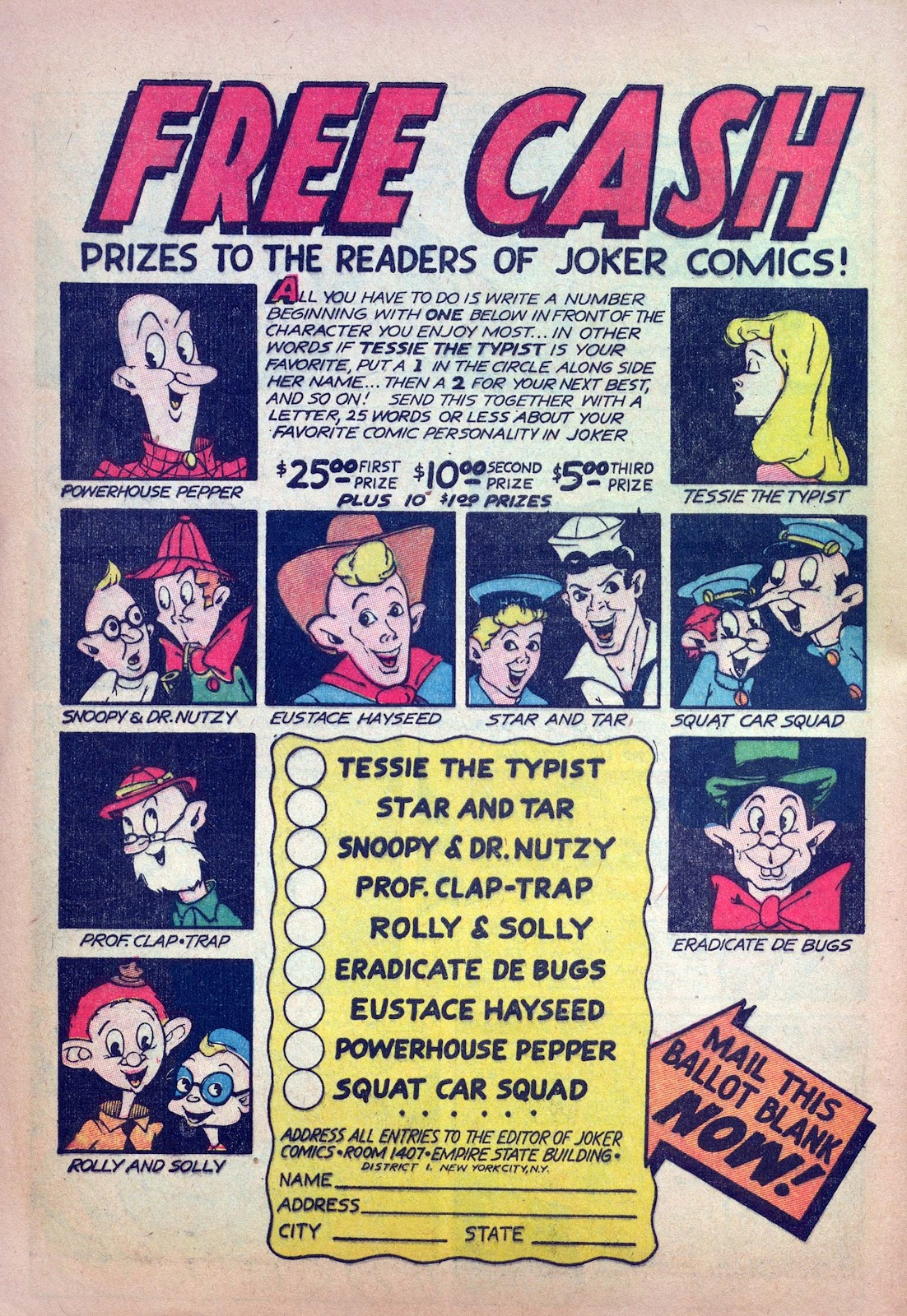 Read online Joker Comics comic -  Issue #14 - 48