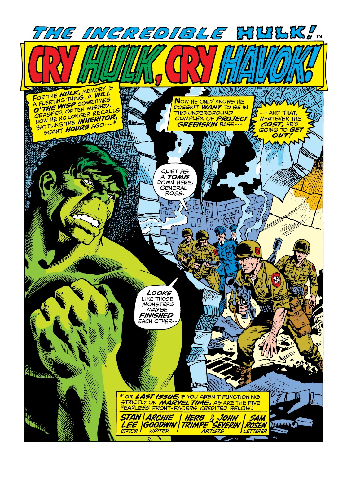 Read online Marvel Masterworks: The Incredible Hulk comic -  Issue # TPB 8 (Part 2) - 31