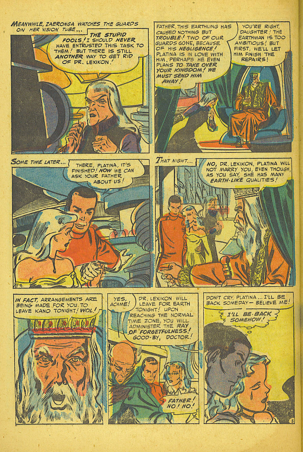 Read online Space Adventures comic -  Issue #16 - 22