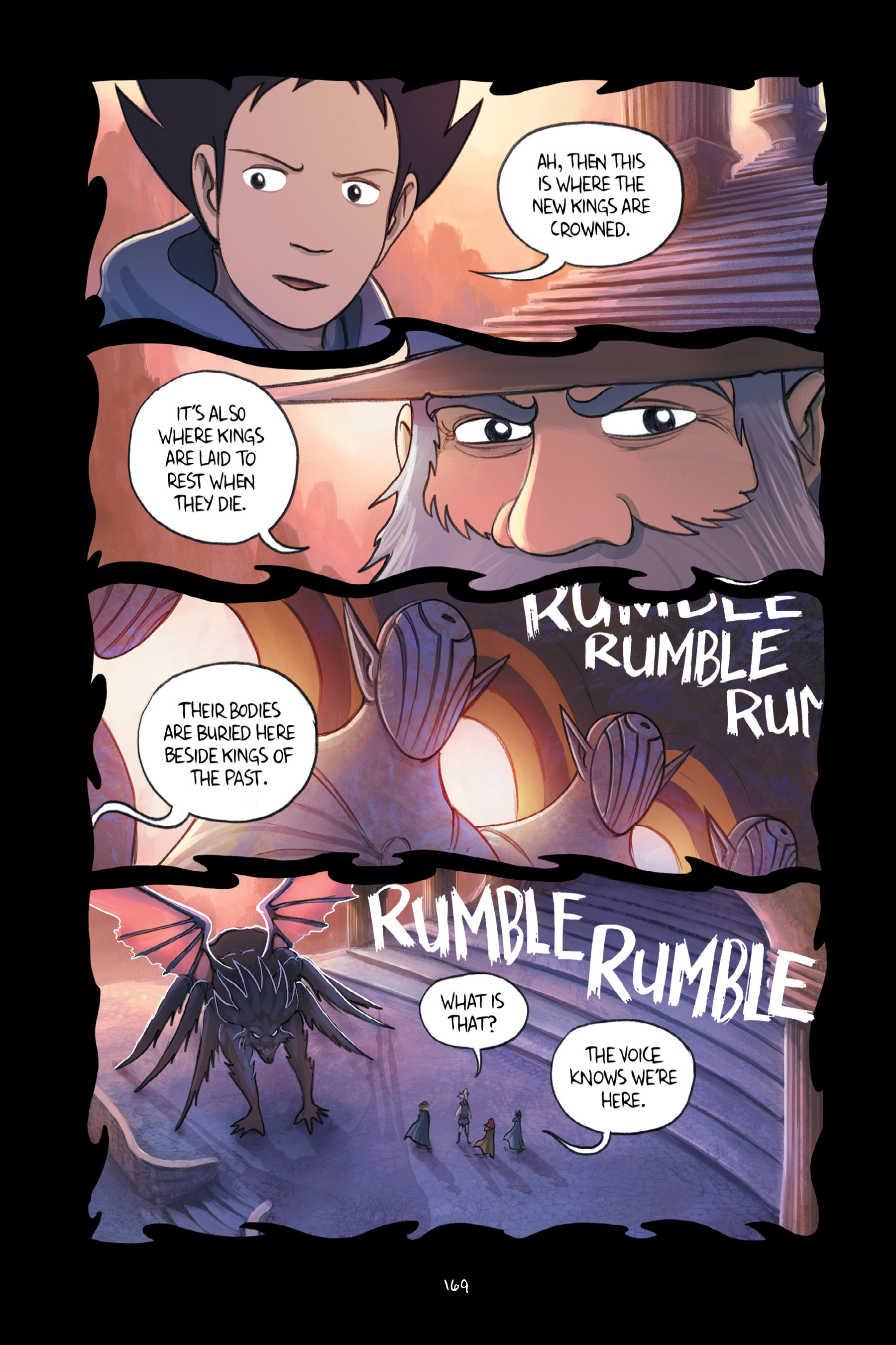 Read online Amulet comic -  Issue #6 - 169