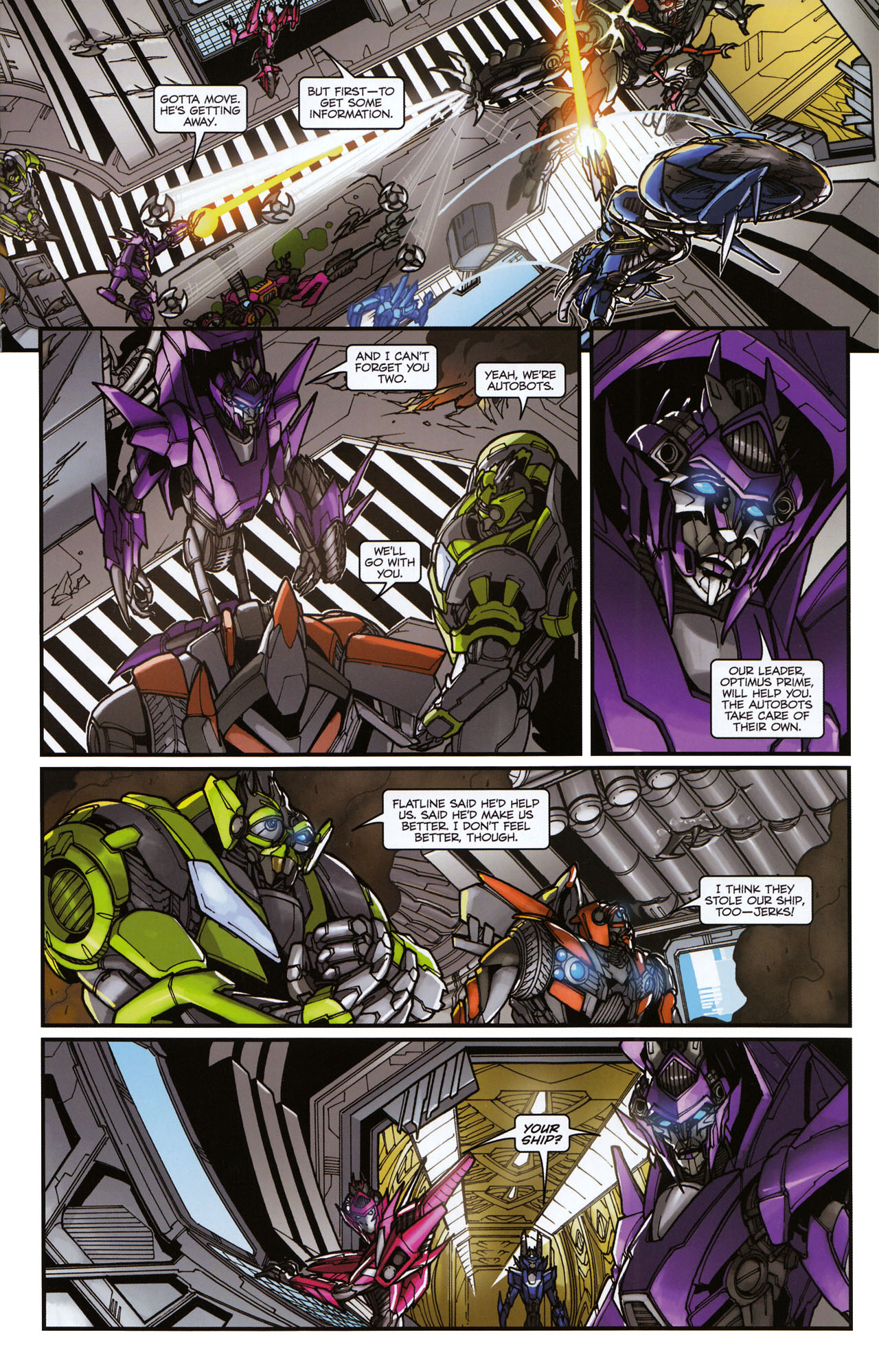Read online Transformers: Tales of The Fallen comic -  Issue #6 - 15