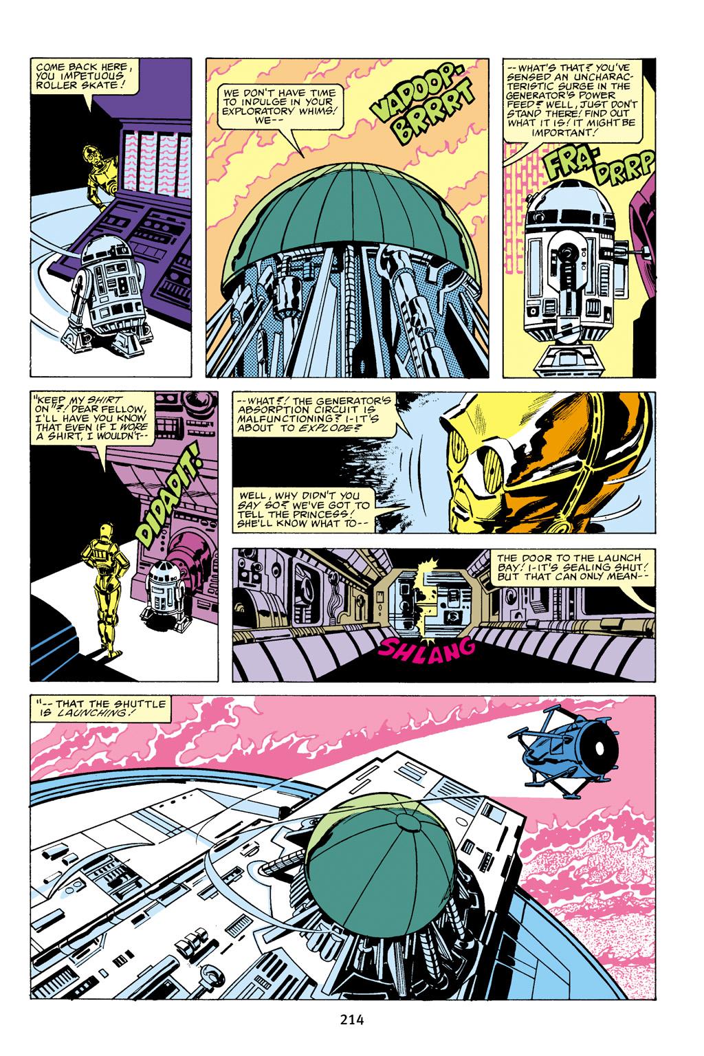 Read online Star Wars Omnibus comic -  Issue # Vol. 16 - 211