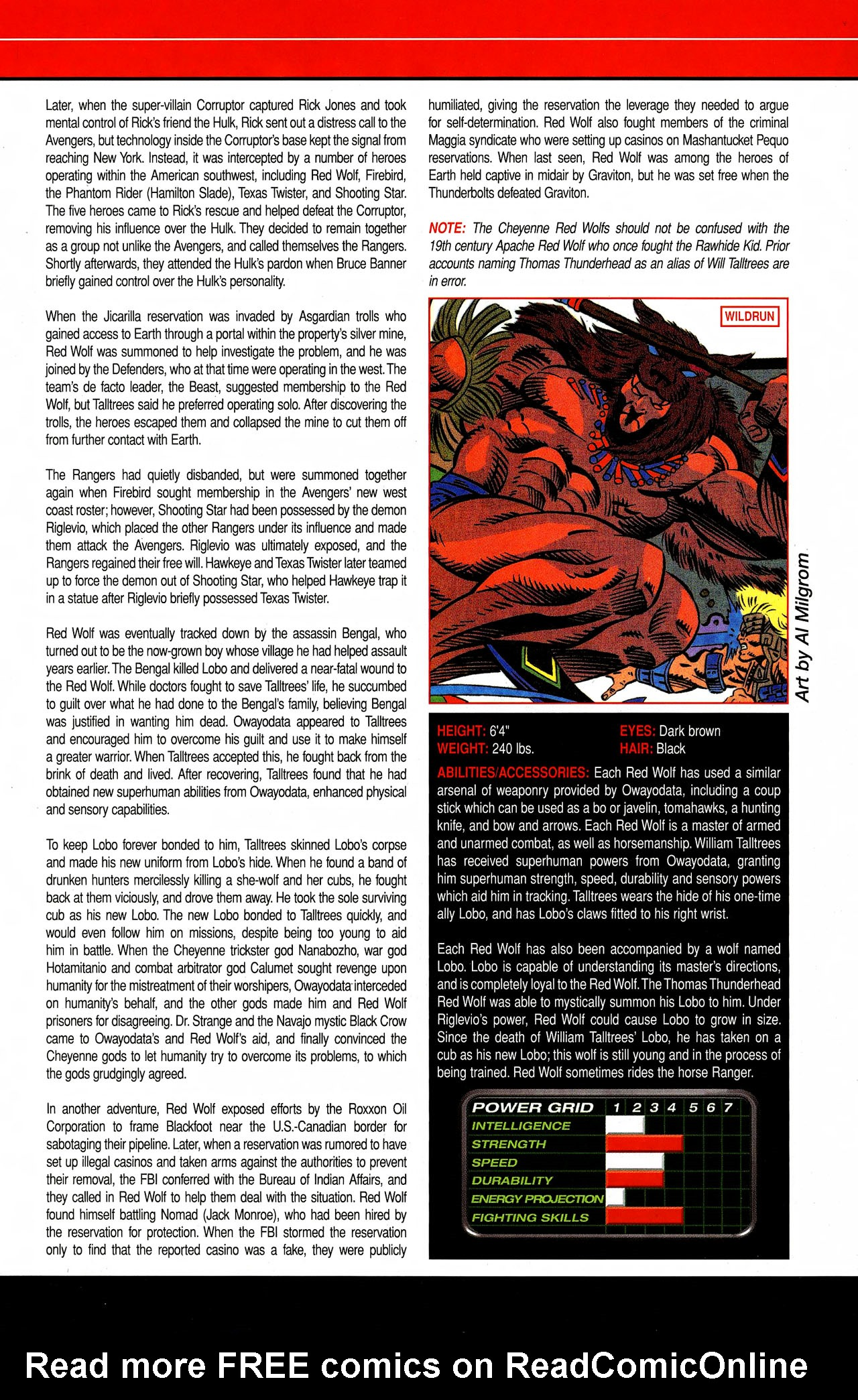 Read online All-New Official Handbook of the Marvel Universe A to Z comic -  Issue #9 - 21