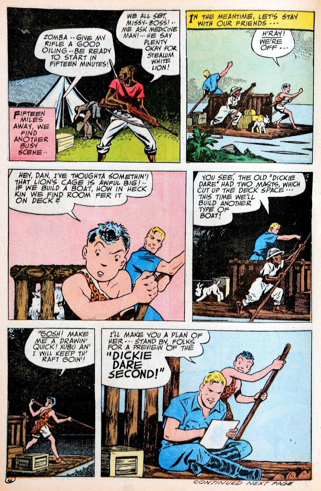 Read online Famous Funnies comic -  Issue #120 - 31