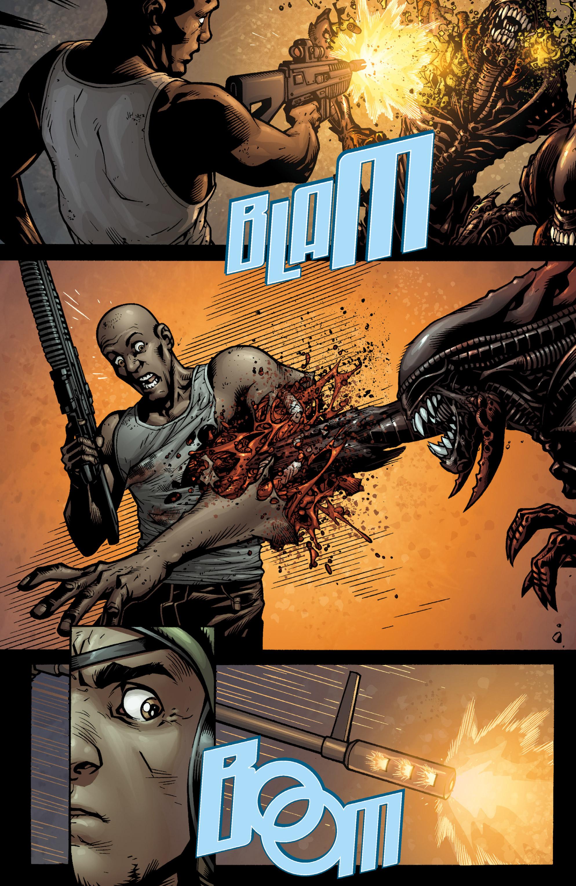 Read online Aliens (2009) comic -  Issue # TPB - 63