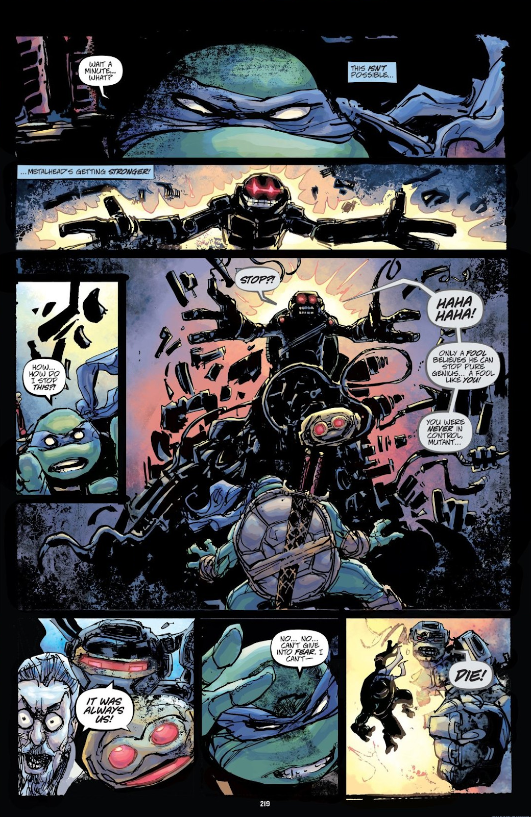 Read online Teenage Mutant Ninja Turtles: The IDW Collection comic -  Issue # TPB 8 (Part 3) - 18