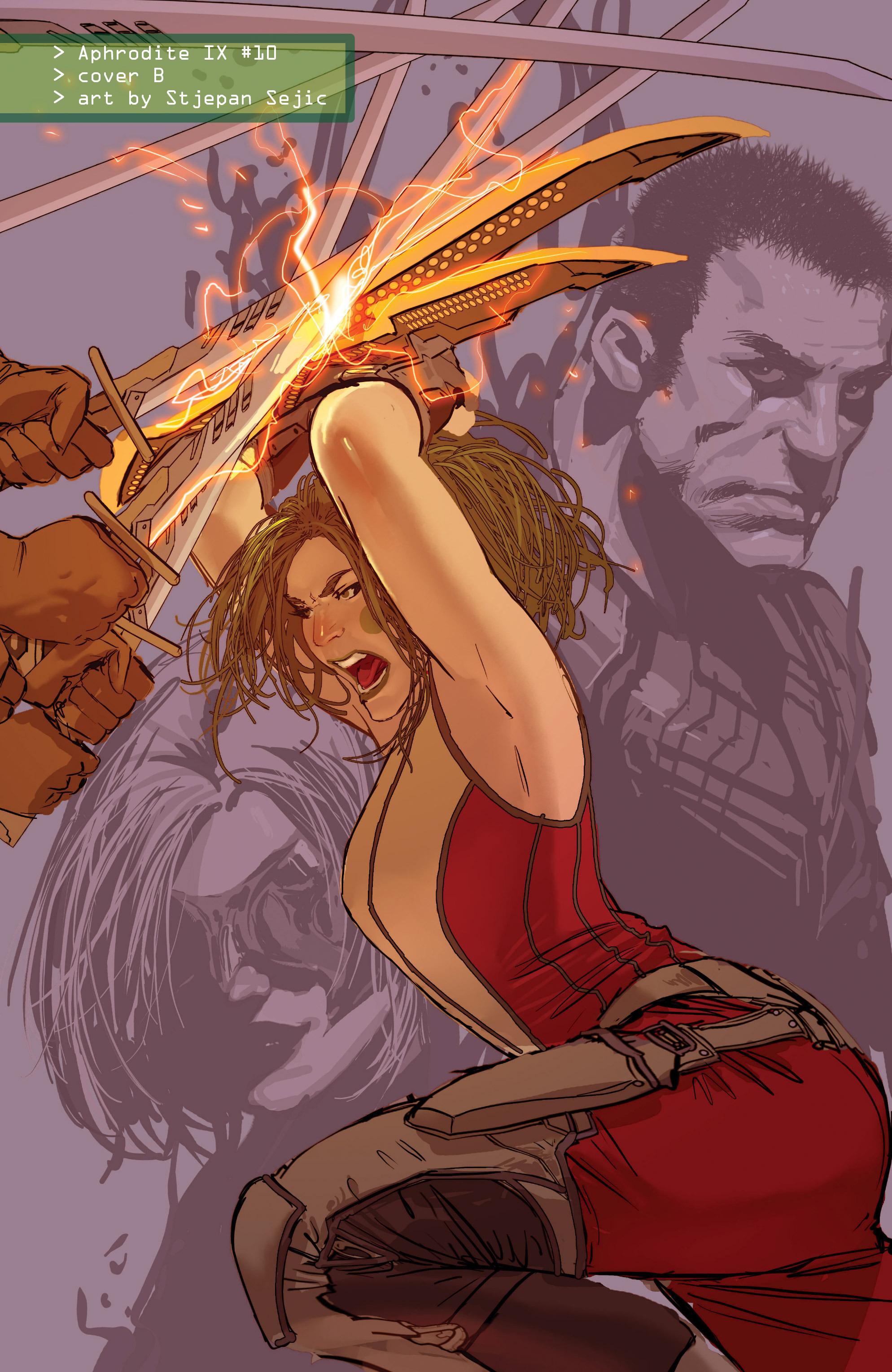 Read online Aphrodite IX (2013) comic -  Issue #Aphrodite IX (2013) _TPB 2 - 150