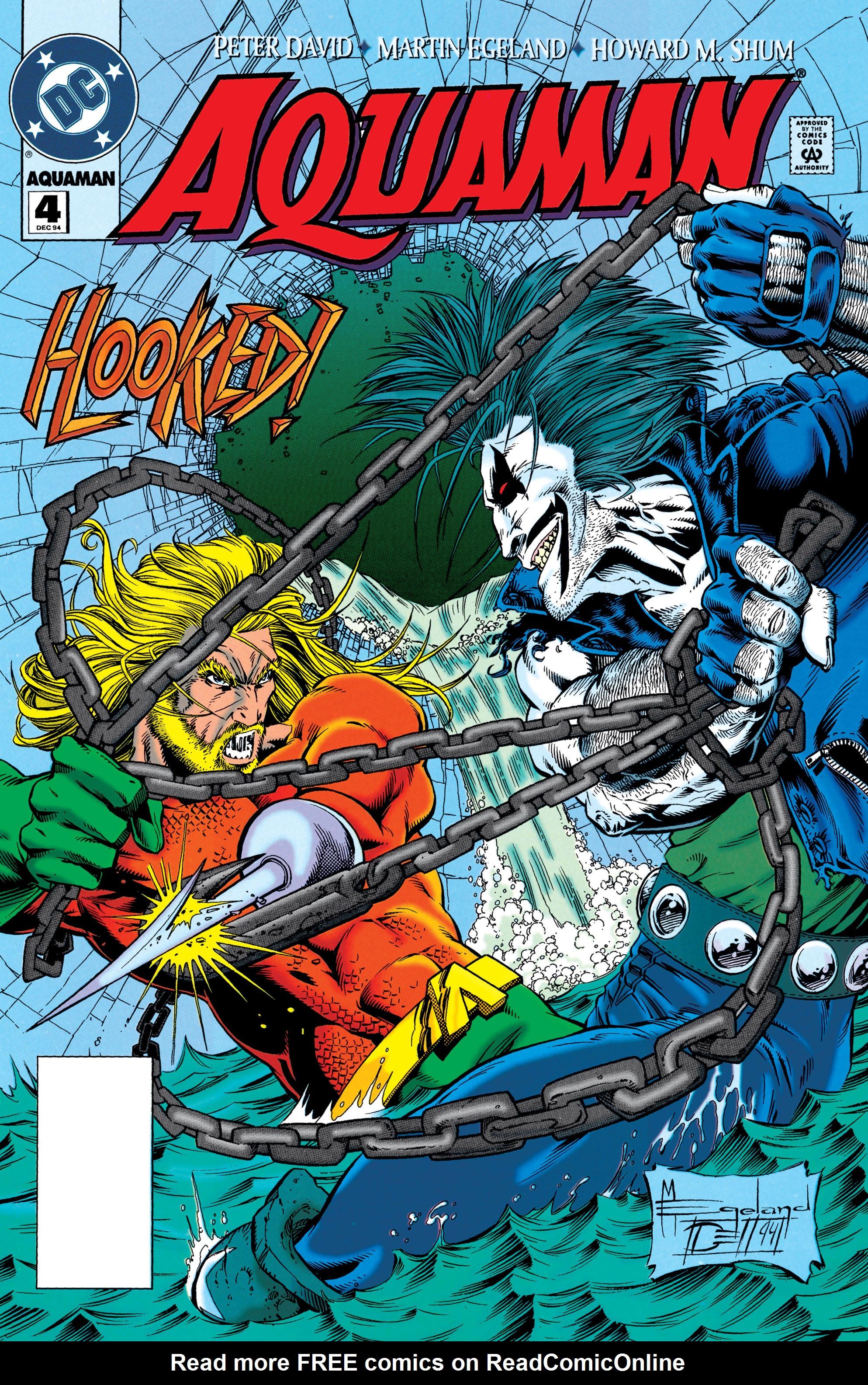 Read online Aquaman (1994) comic -  Issue #4 - 1