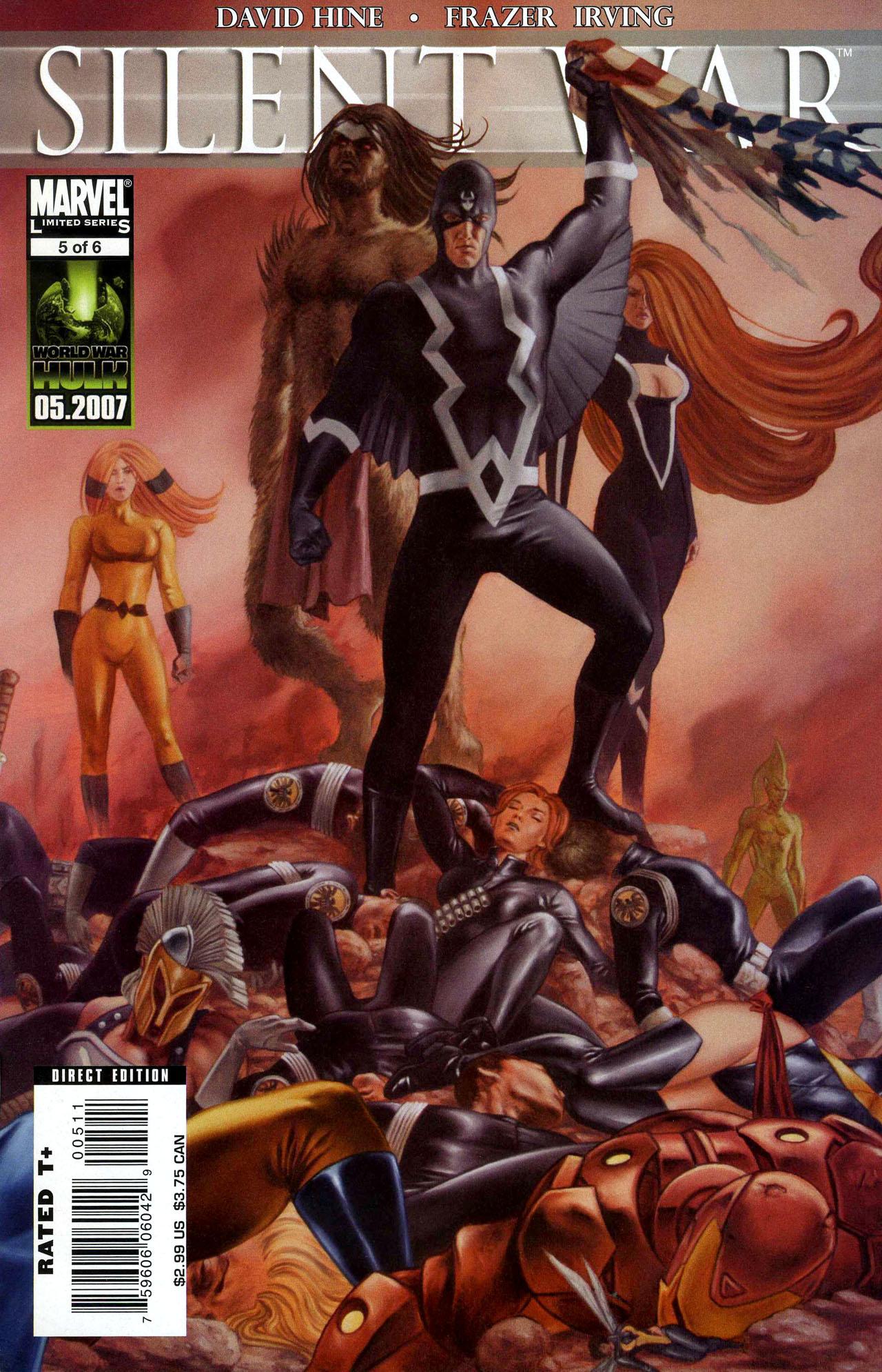 Read online Silent War comic -  Issue #5 - 1