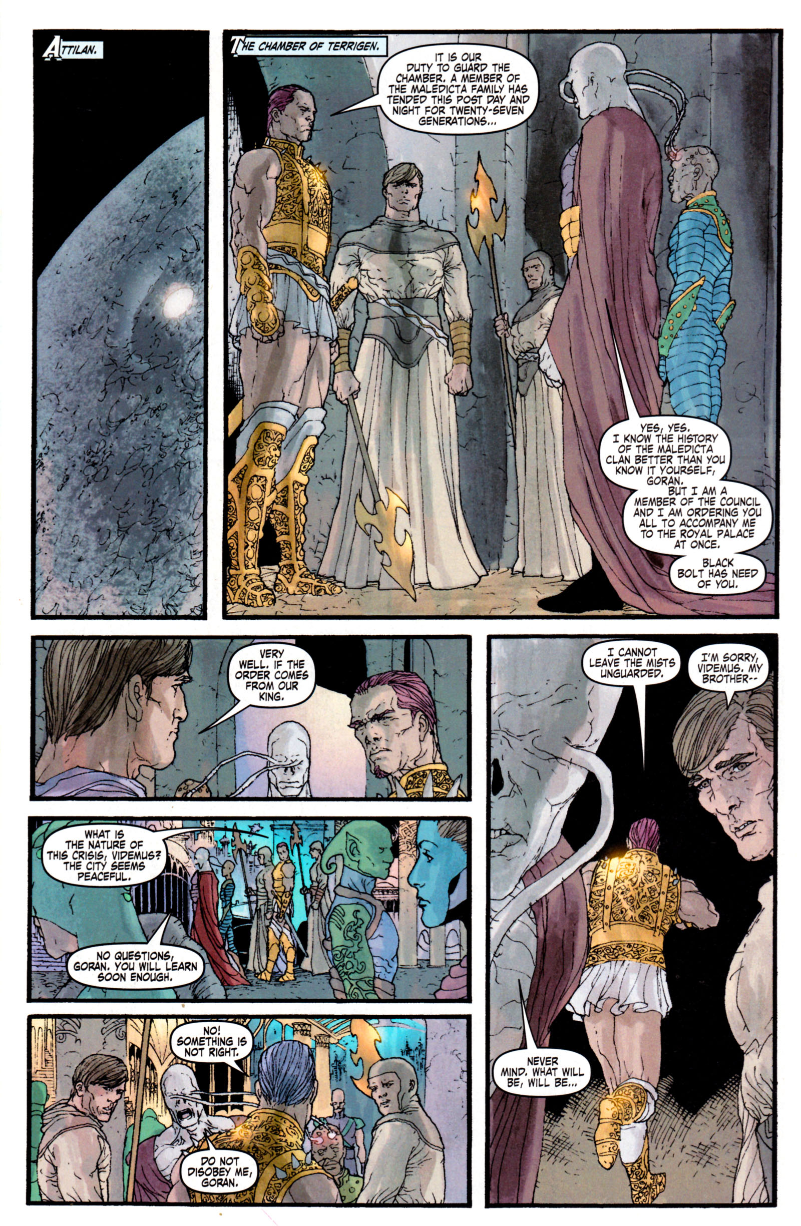 Read online Son of M comic -  Issue #4 - 25
