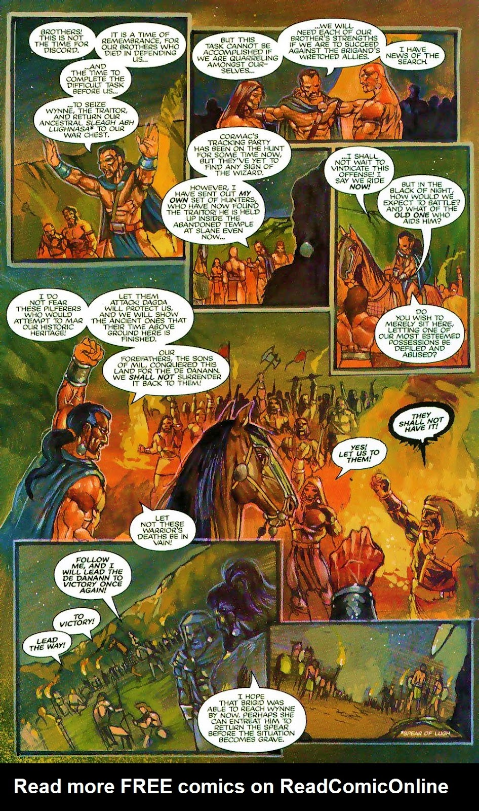 More Than Mortal: Sagas issue 3 - Page 5