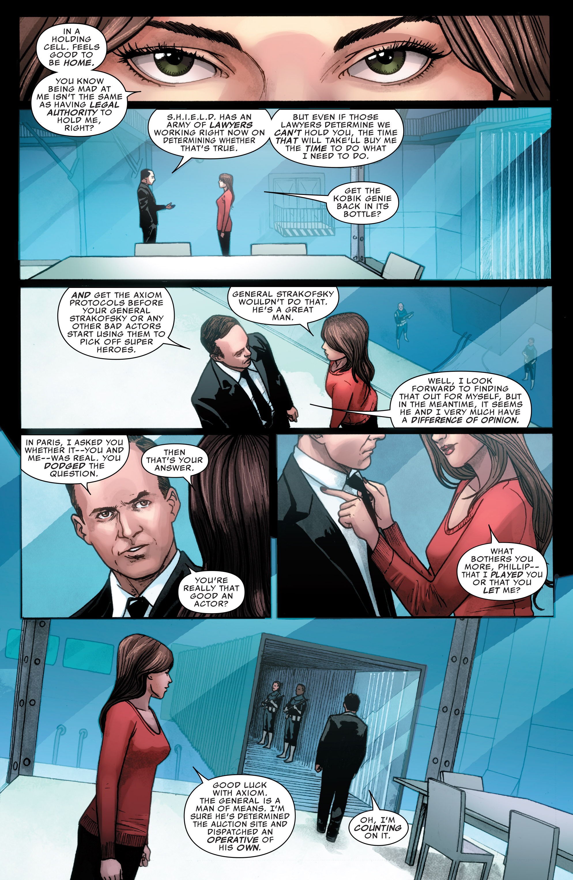 Read online Agents of S.H.I.E.L.D. comic -  Issue #3 - 10