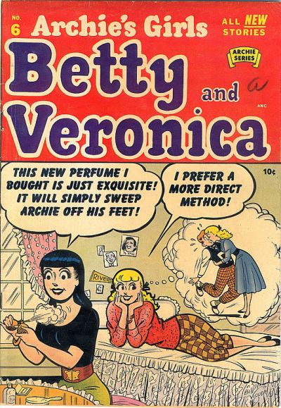 Read online Archie's Girls Betty and Veronica comic -  Issue #6 - 1