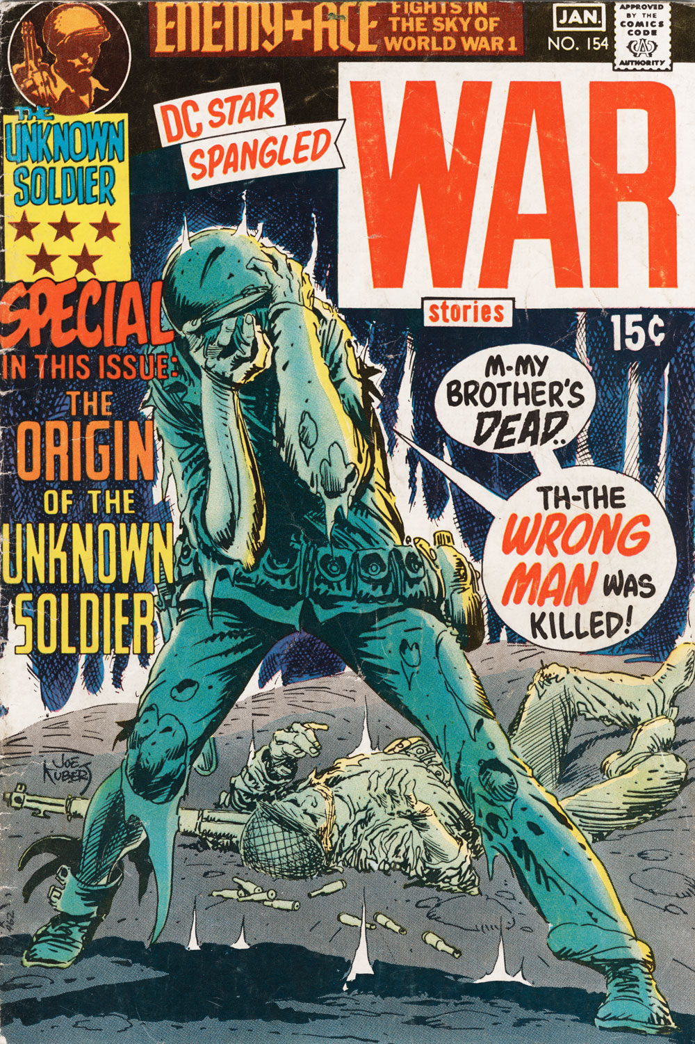 Star Spangled War Stories (1952) issue 154 - Page 1