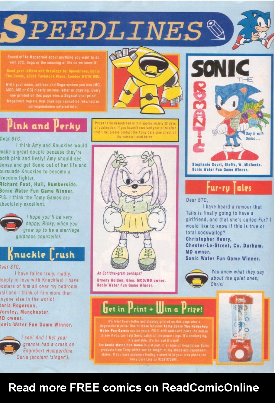 Read online Sonic the Comic comic -  Issue #45 - 31