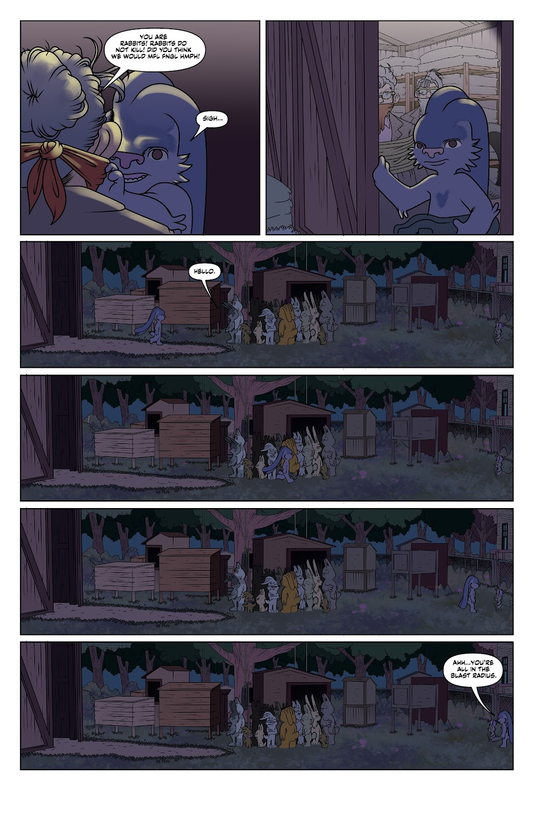 Read online Auntie Agatha's Home For Wayward Rabbits comic -  Issue #6 - 8
