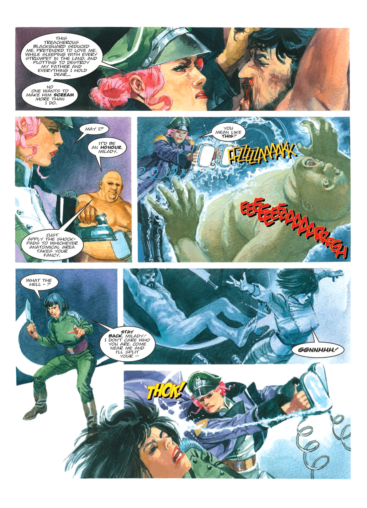 Read online Nikolai Dante comic -  Issue # TPB 9 - 94