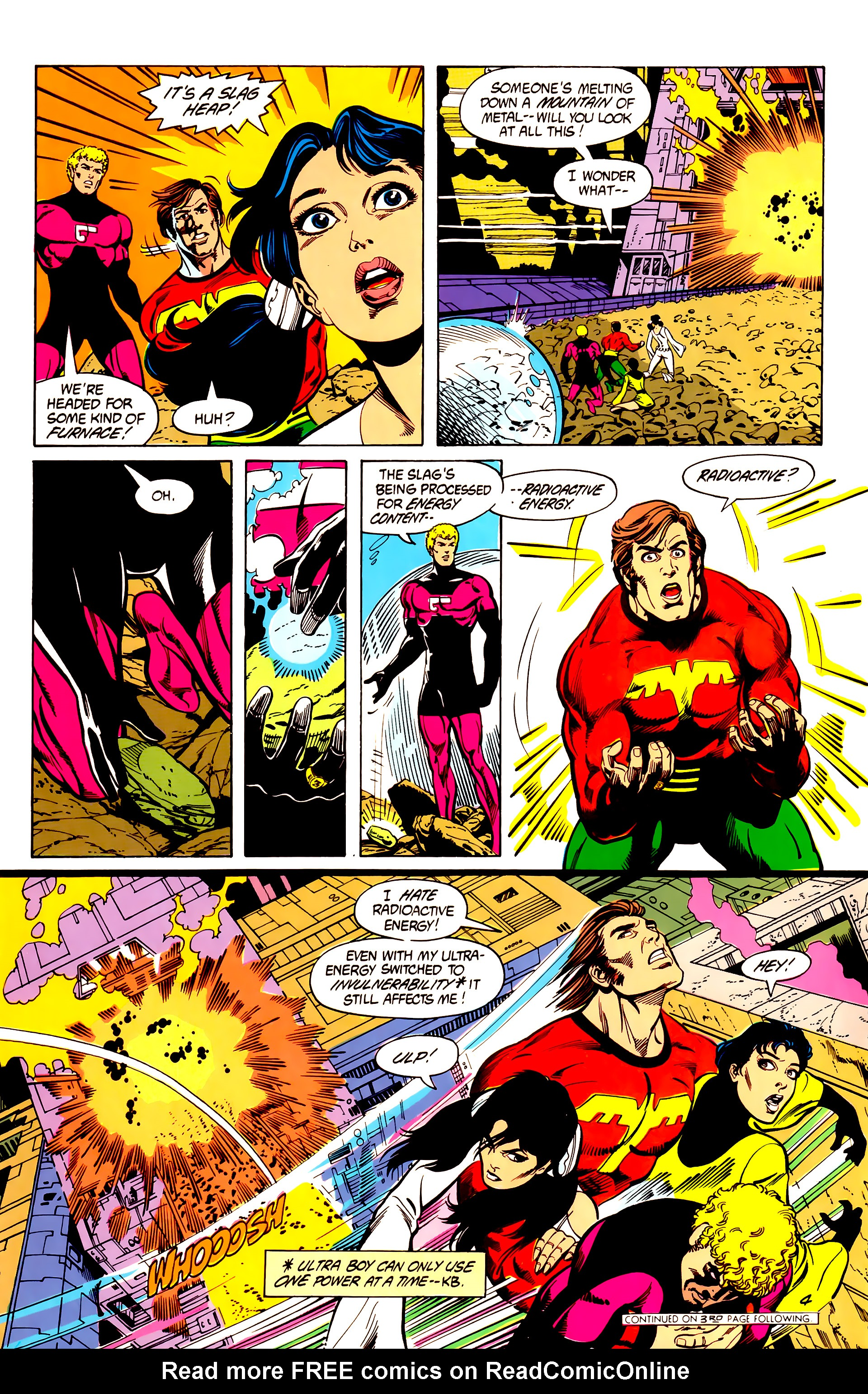 Legion of Super-Heroes (1984) 7 Page 5