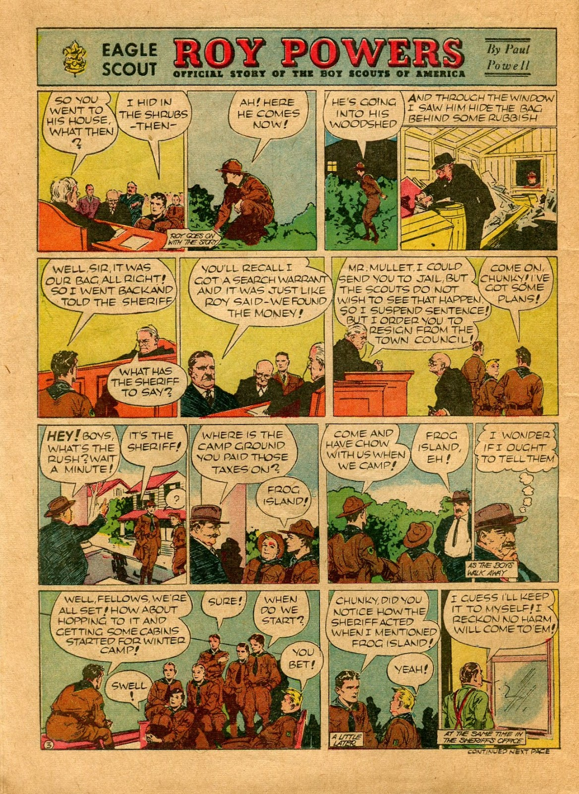 Read online Famous Funnies comic -  Issue #64 - 8