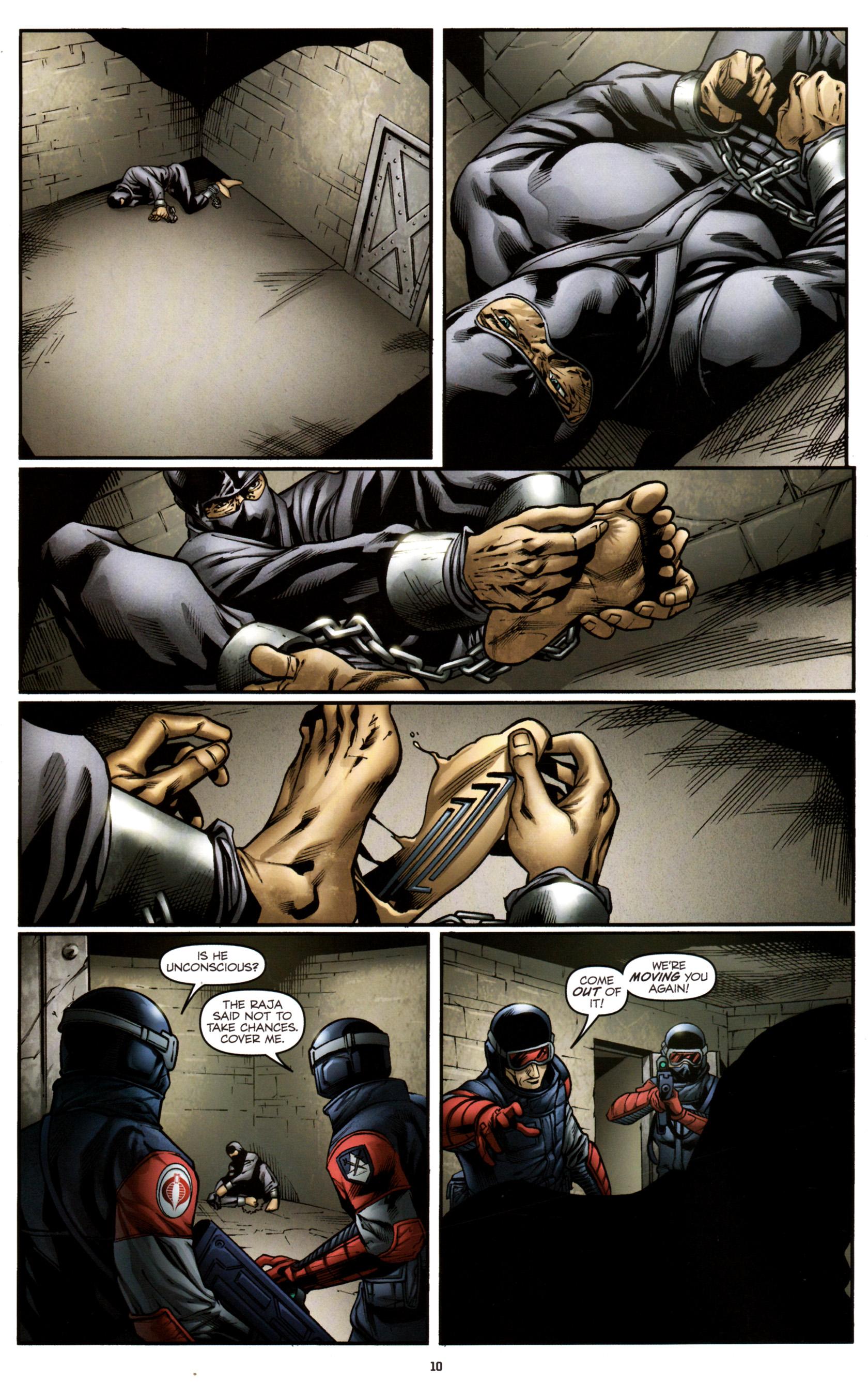 Read online G.I. Joe: Snake Eyes comic -  Issue #3 - 13