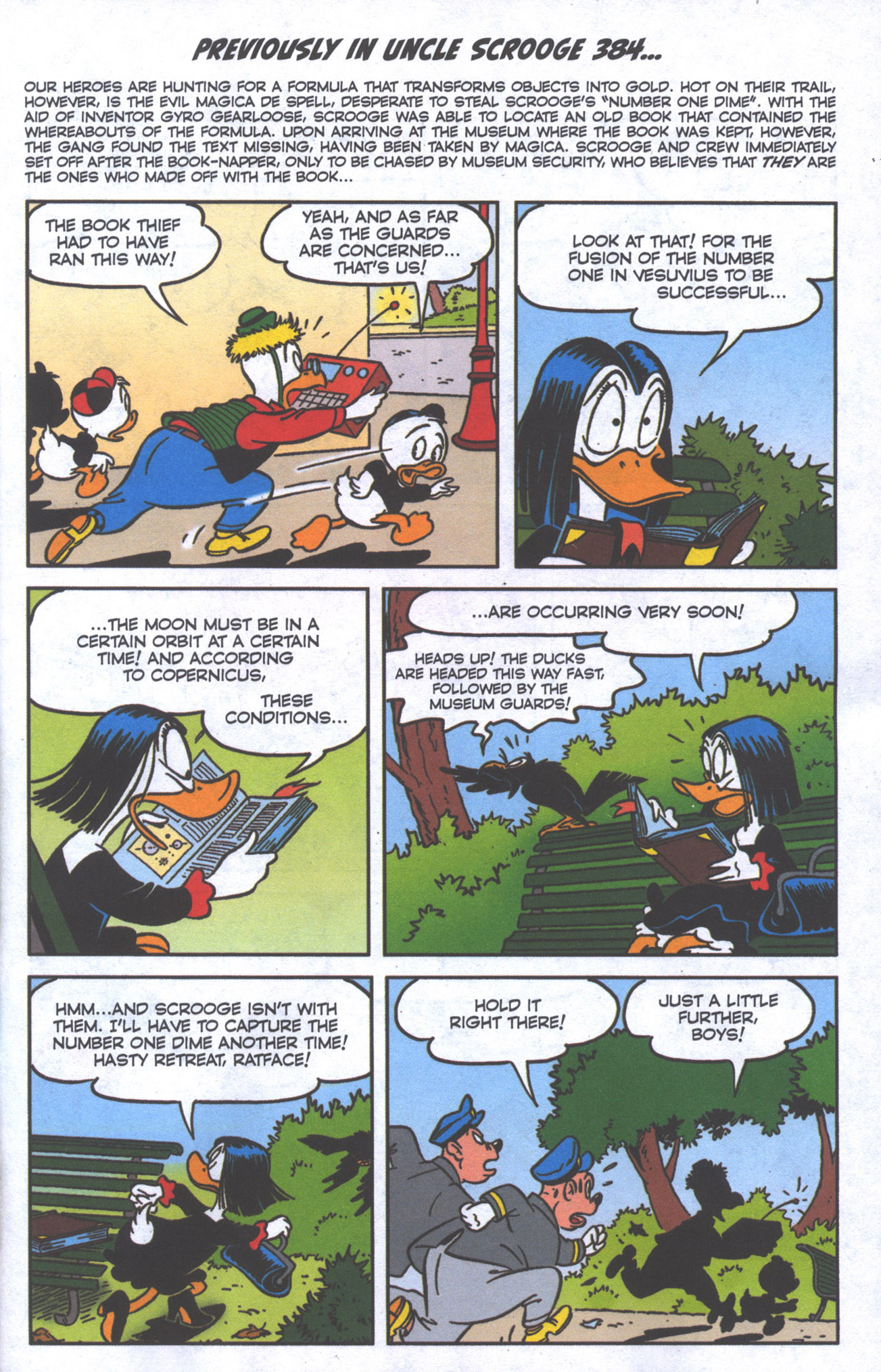 Read online Uncle Scrooge (1953) comic -  Issue #385 - 4
