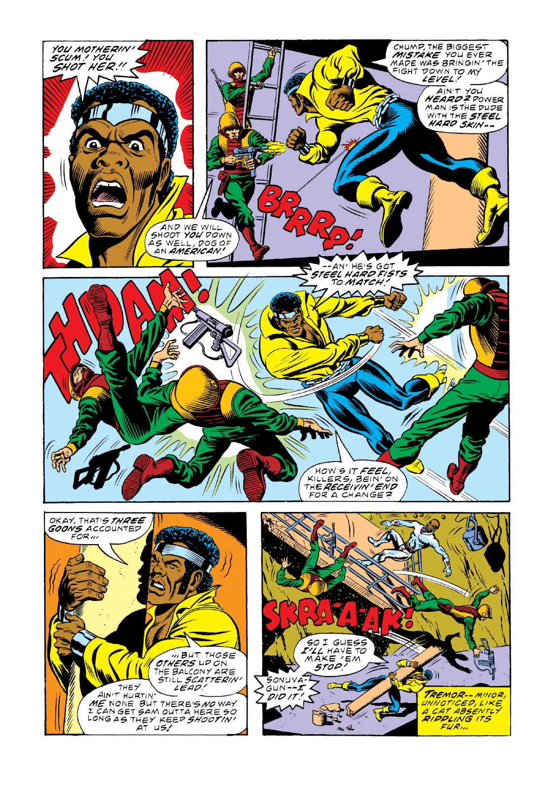 Read online Marvel Masterworks: Luke Cage, Power Man comic -  Issue # TPB 3 (Part 2) - 9