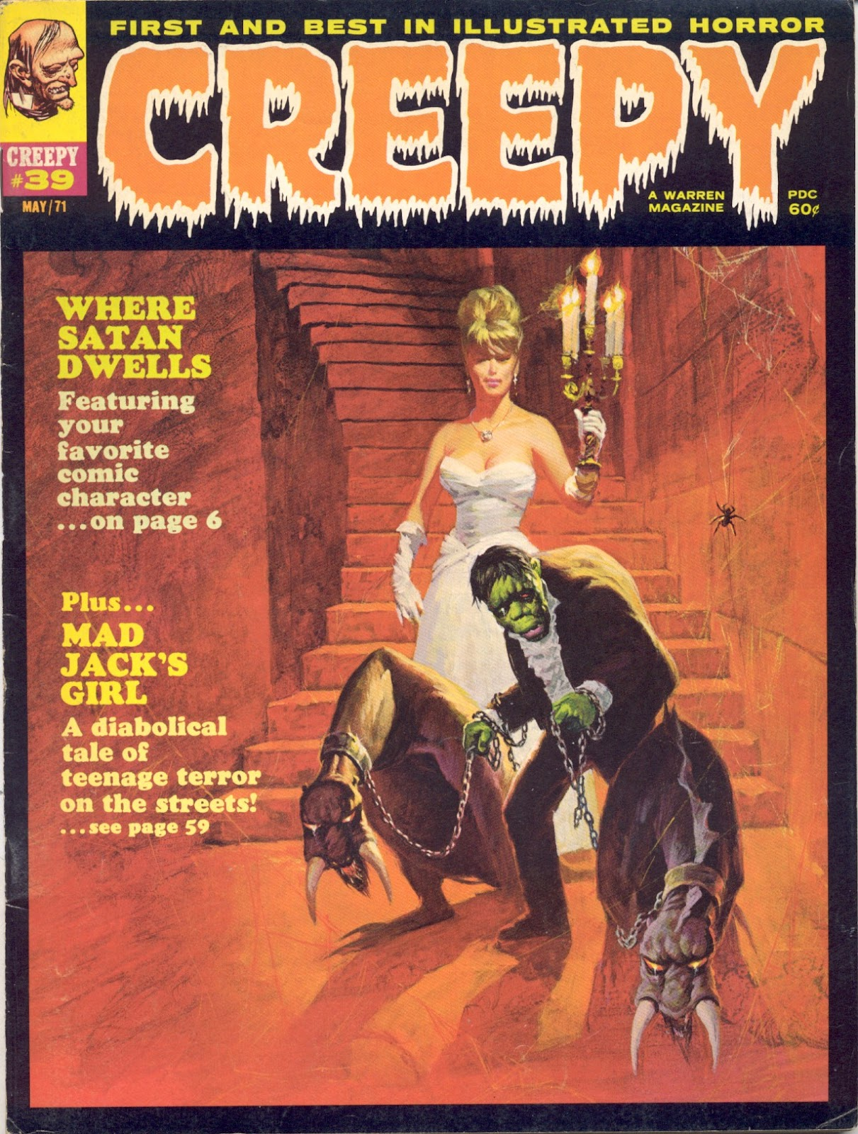 Creepy (1964) issue 39 - Page 1