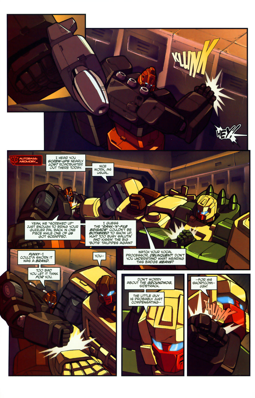 Read online Transformers: Micromasters comic -  Issue #1 - 18