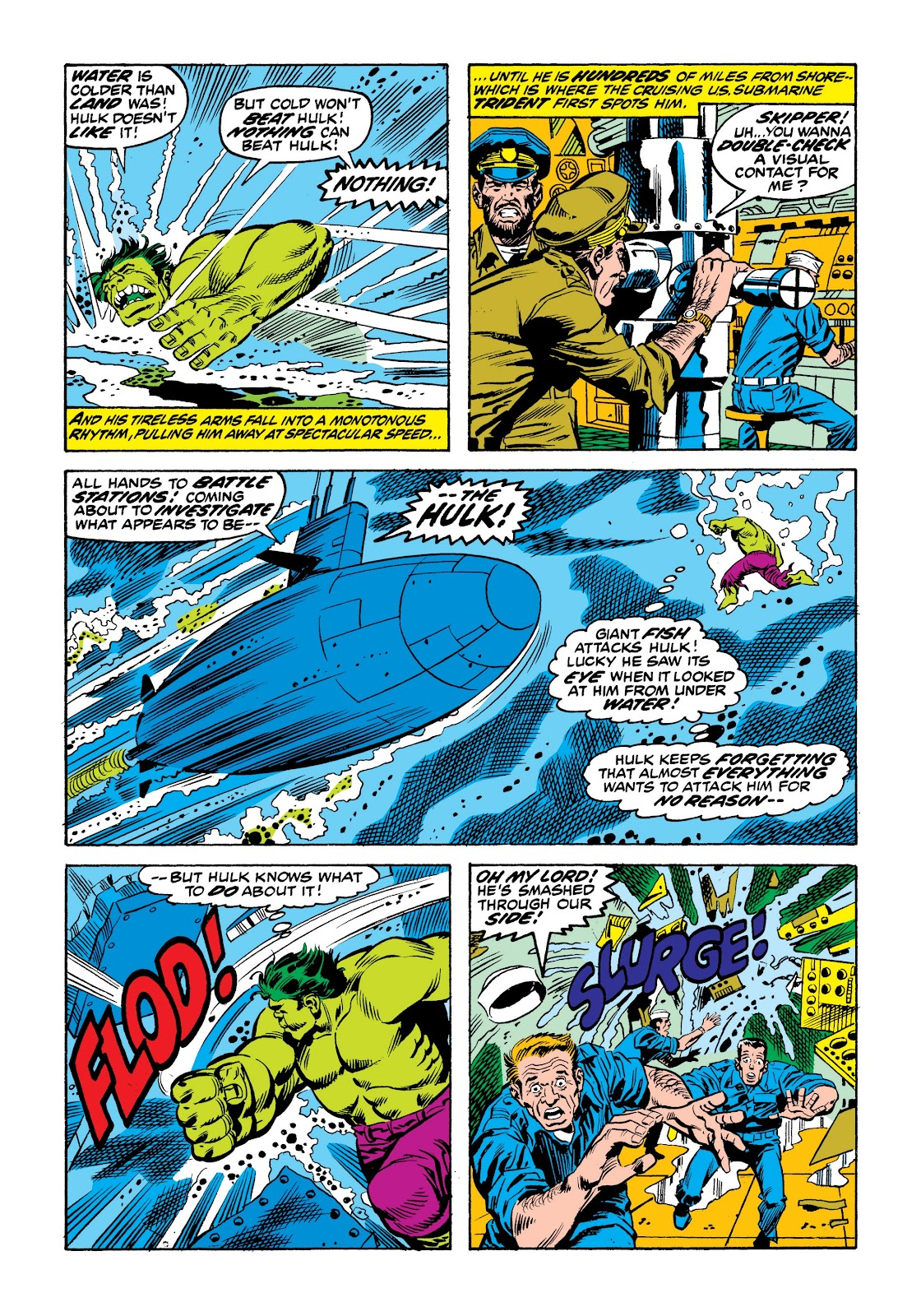 Read online Marvel Masterworks: The Incredible Hulk comic -  Issue # TPB 9 (Part 2) - 59