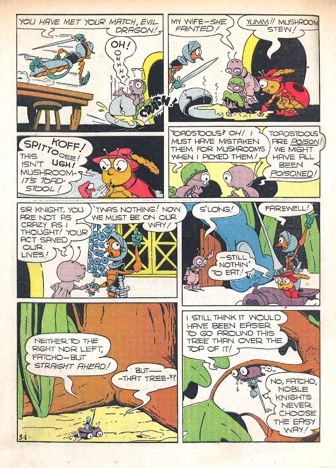 Read online Animal Comics comic -  Issue #4 - 57