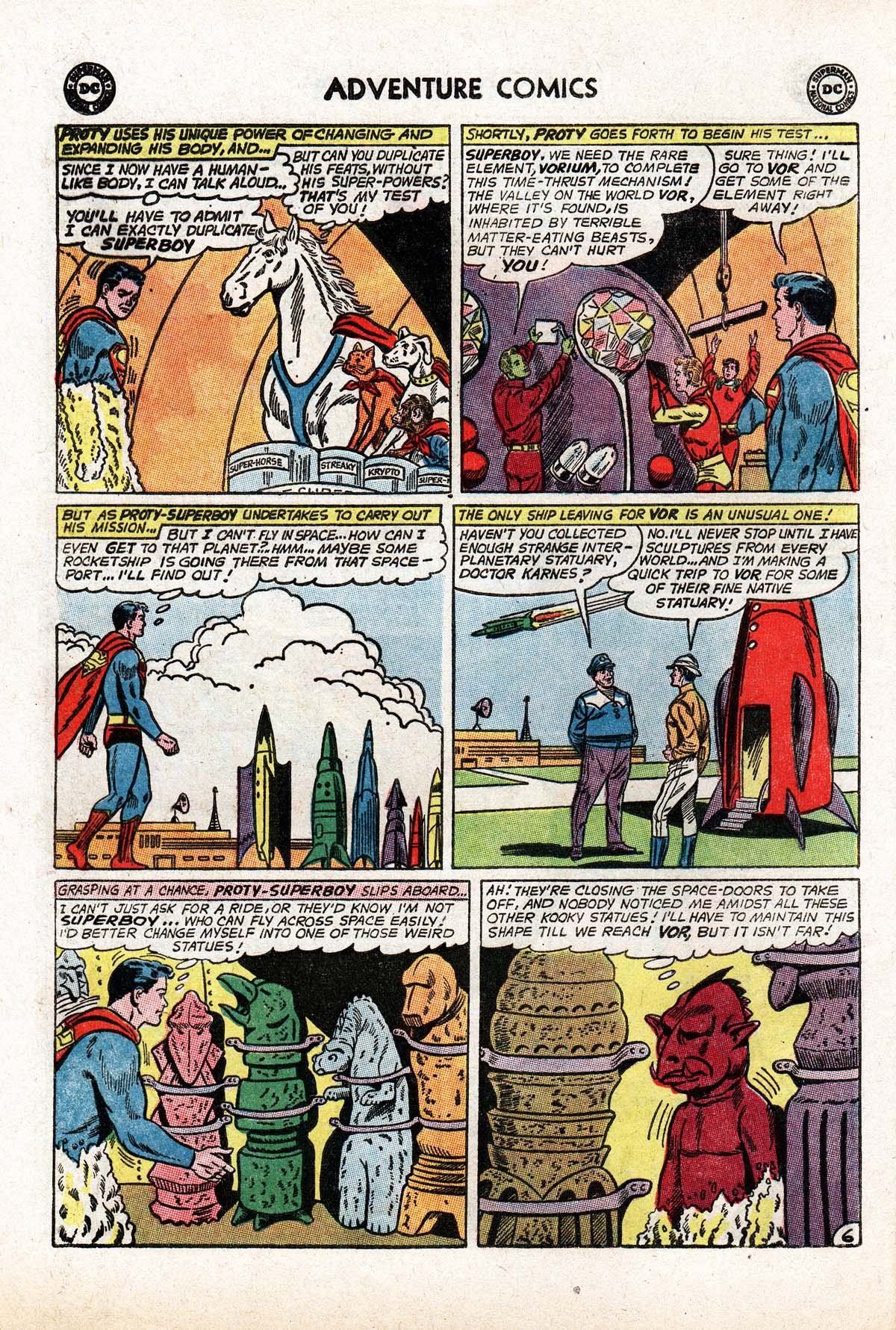 Read online Adventure Comics (1938) comic -  Issue #322 - 8