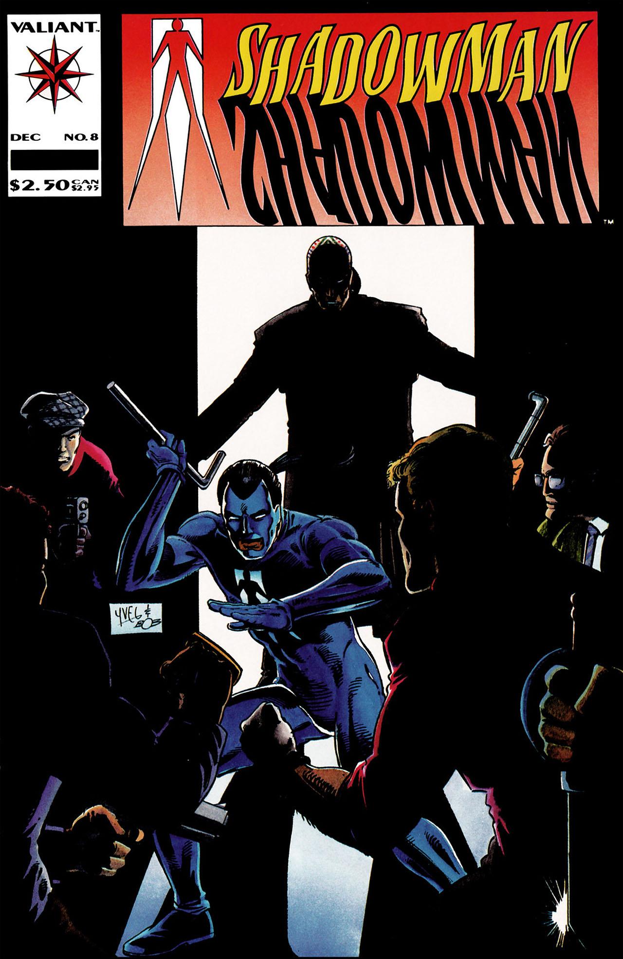 Read online Shadowman (1992) comic -  Issue #8 - 1