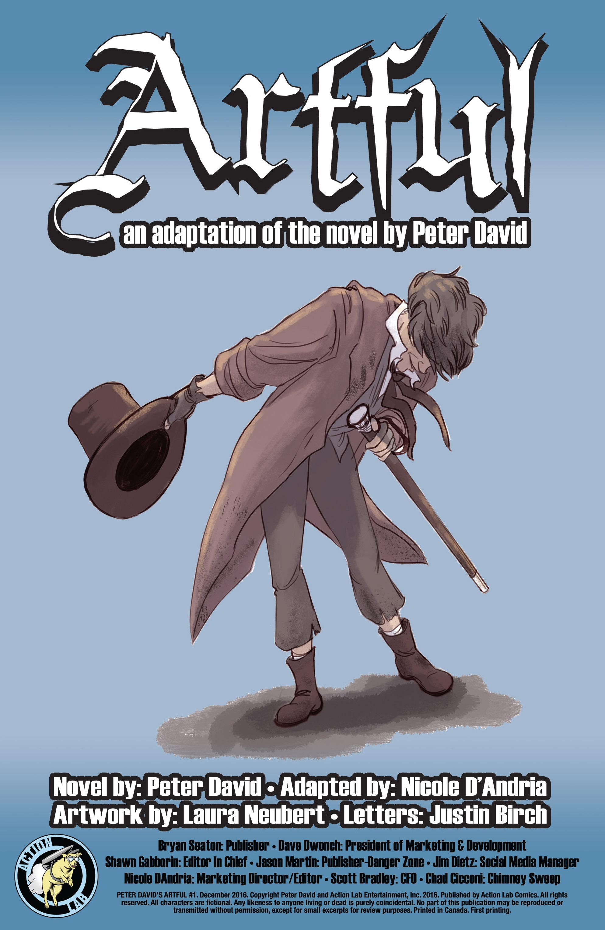 Read online Artful comic -  Issue #1 - 2
