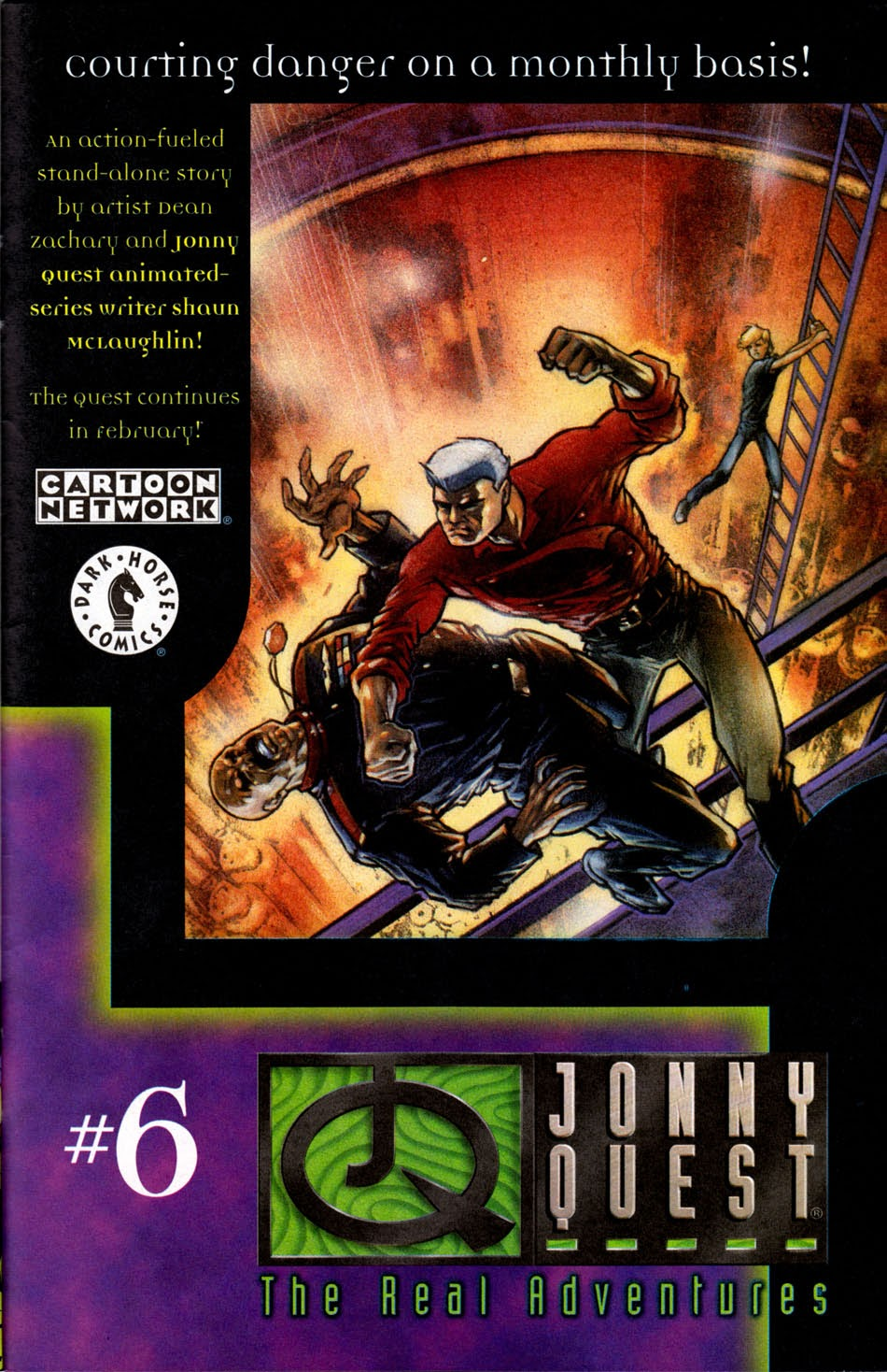 Read online The Real Adventures of Jonny Quest comic -  Issue #5 - 31