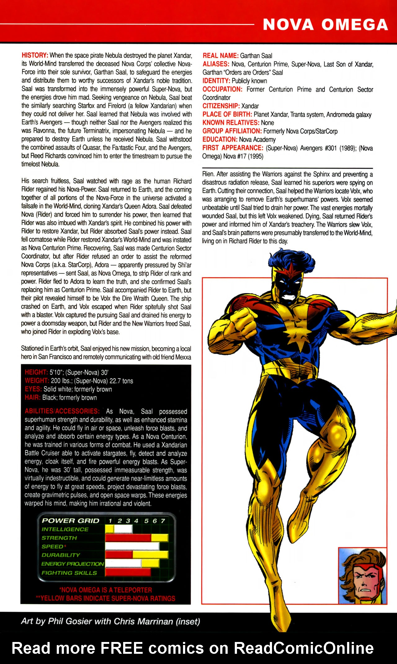 Read online All-New Official Handbook of the Marvel Universe A to Z comic -  Issue #8 - 23