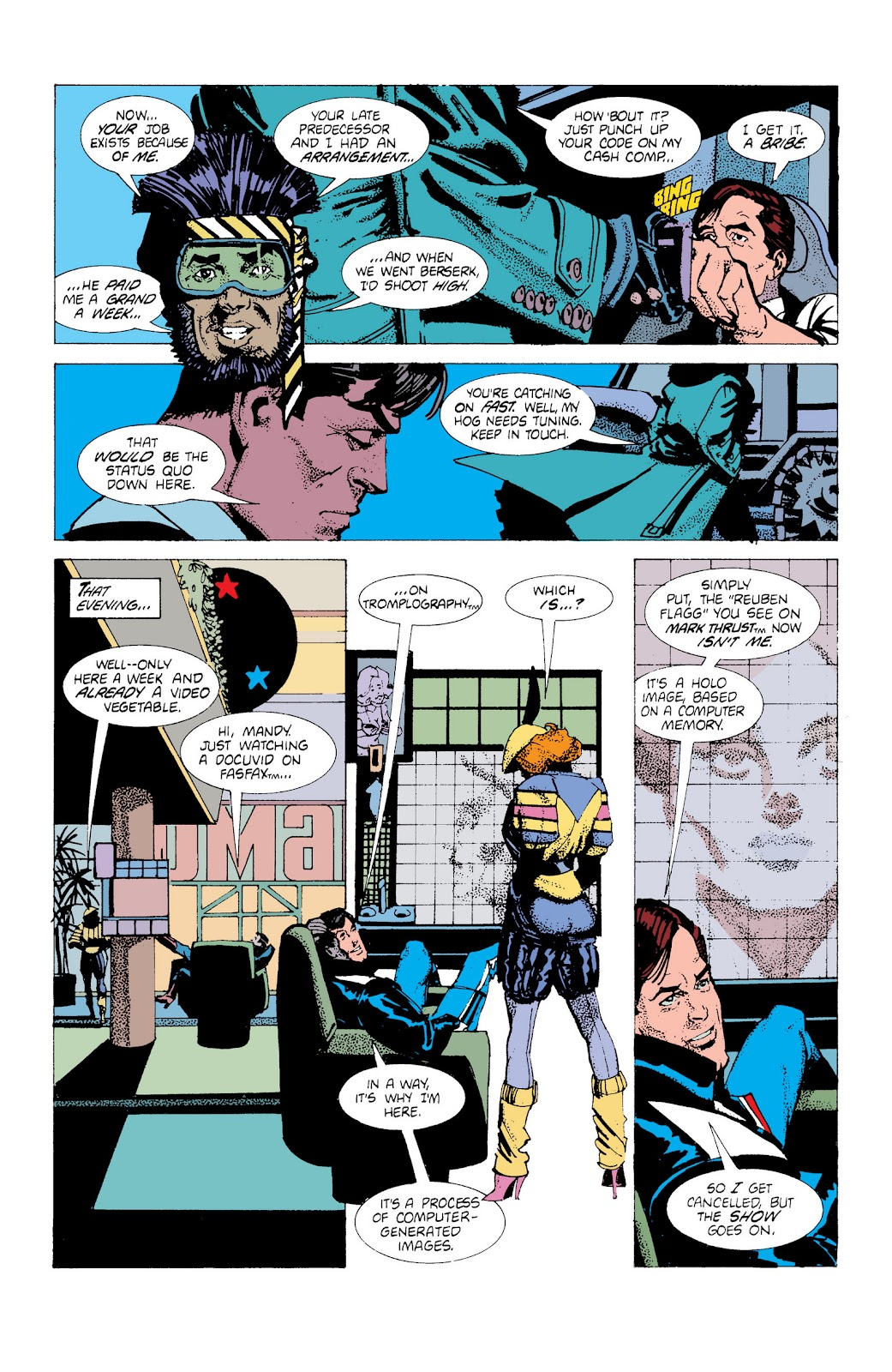 American Flagg! issue Definitive Collection (Part 1) - Page 39