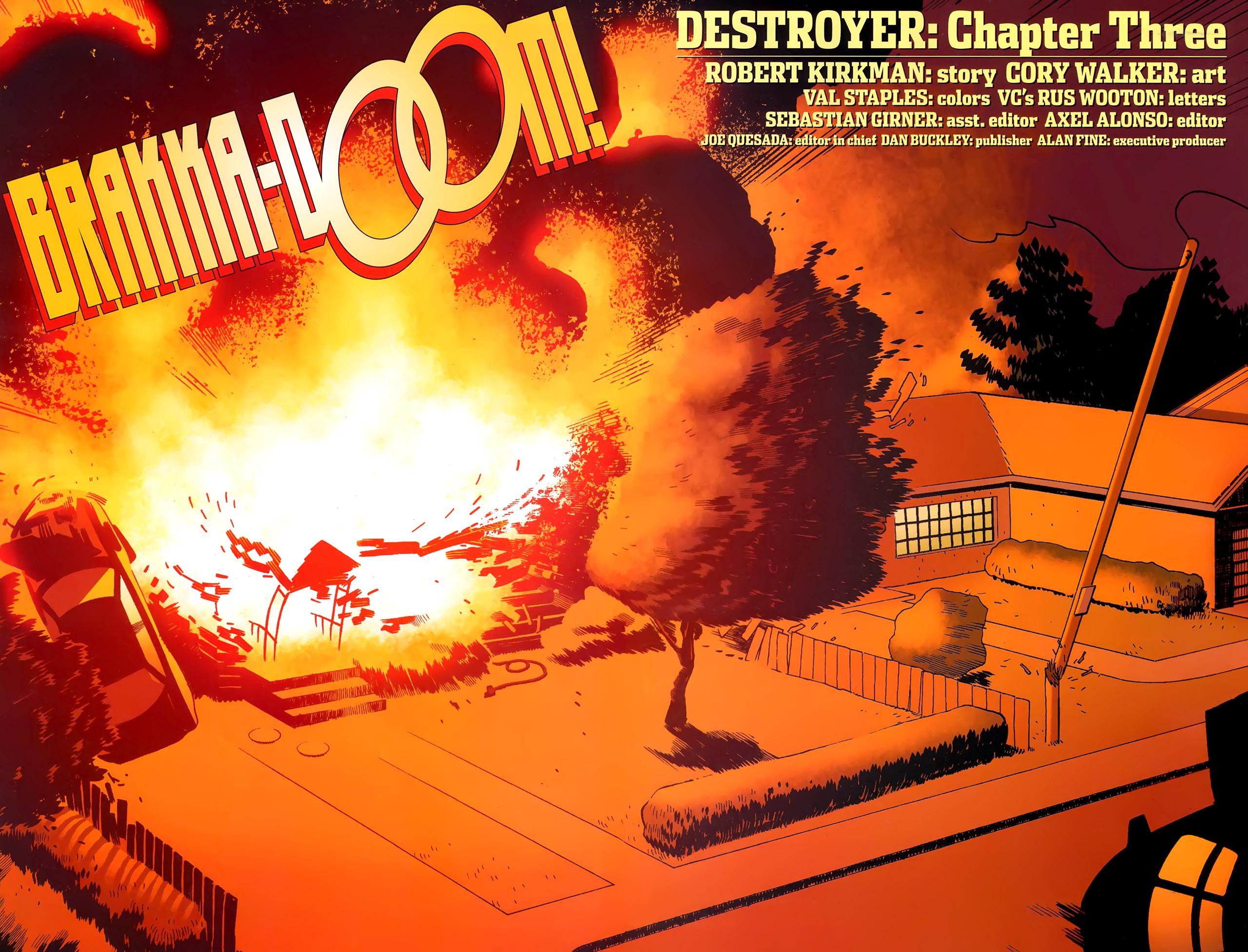Read online Destroyer comic -  Issue #3 - 7