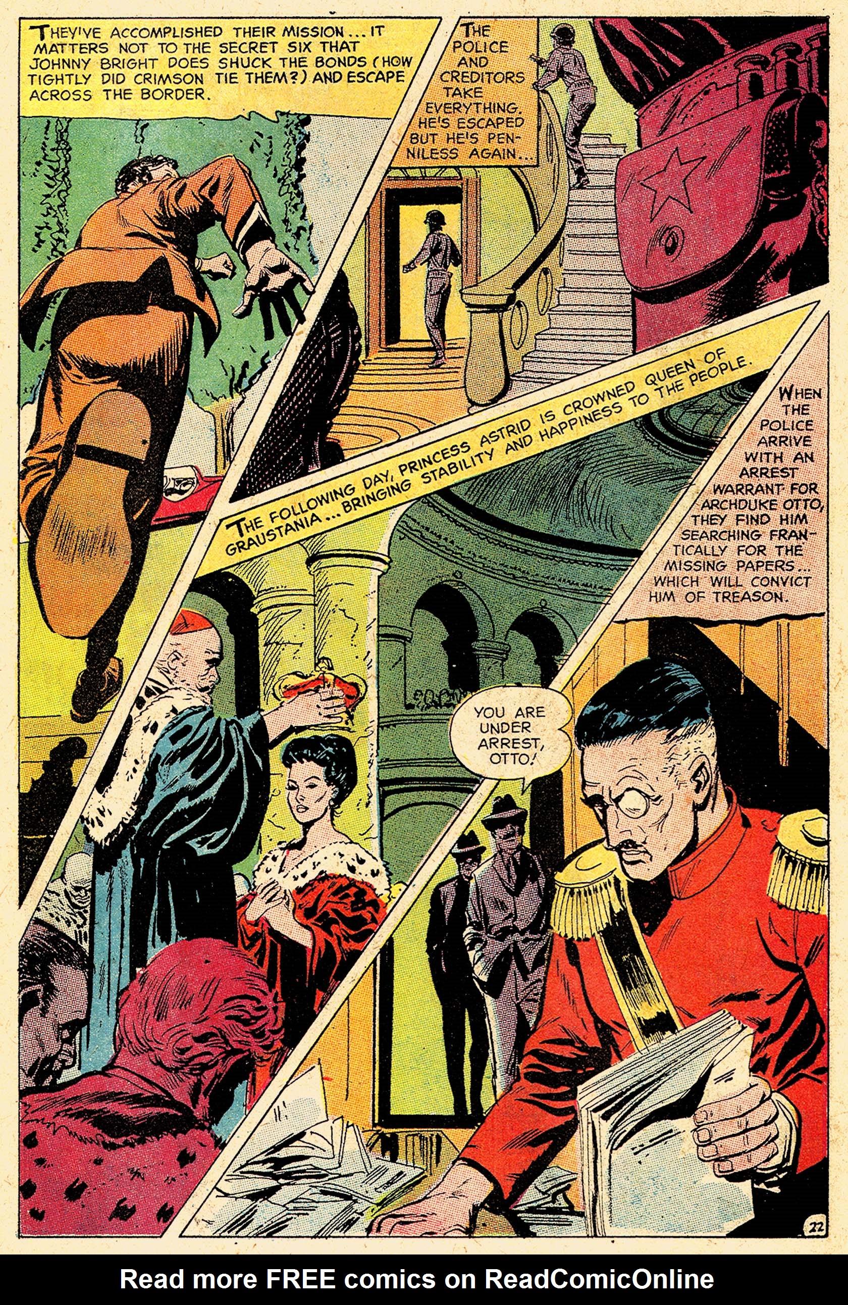 Read online Secret Six (1968) comic -  Issue #5 - 30