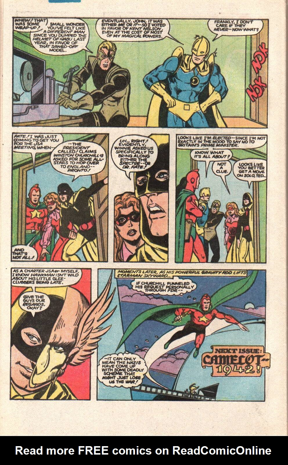 Read online All-Star Squadron comic -  Issue #47 - 32