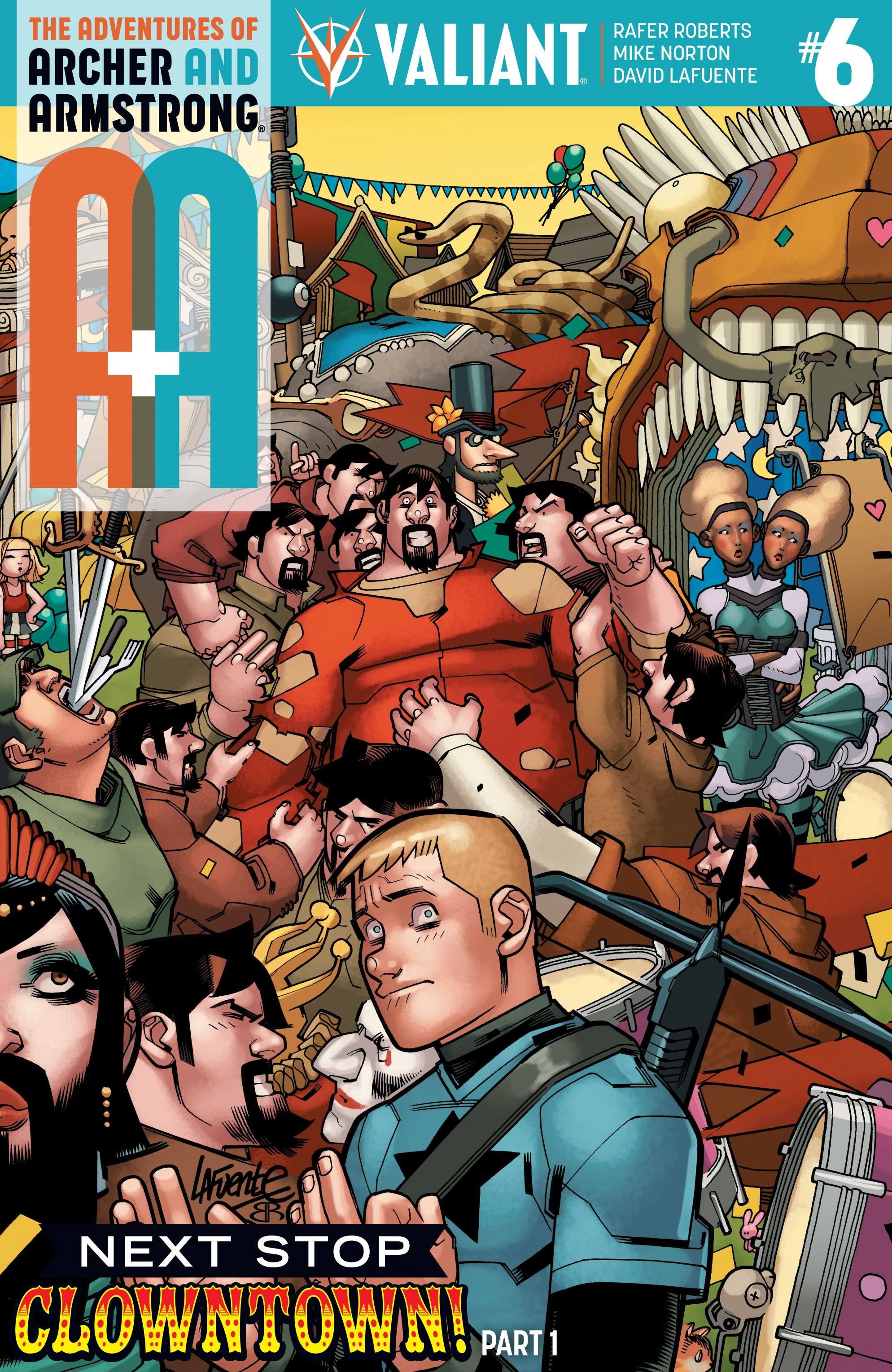 Read online A&A: The Adventures of Archer & Armstrong comic -  Issue #6 - 1
