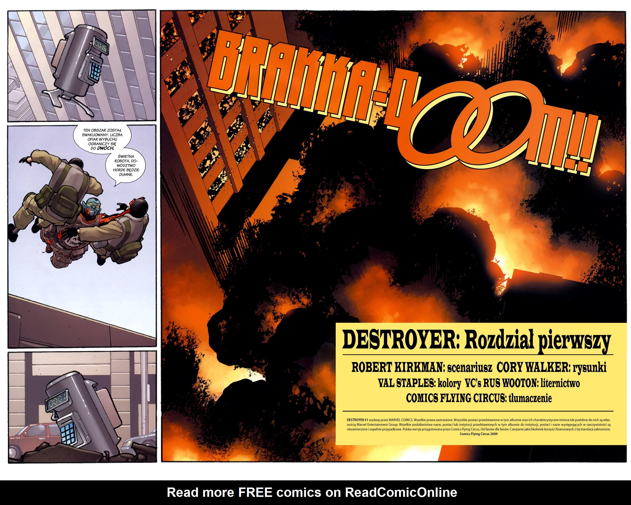 Read online Destroyer comic -  Issue #1 - 7