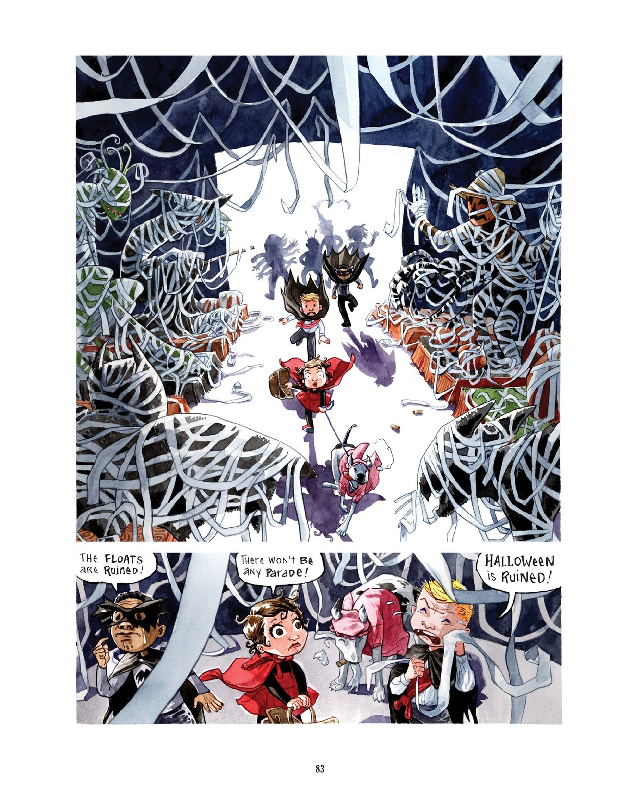 Read online Scary Godmother comic -  Issue # TPB - 83